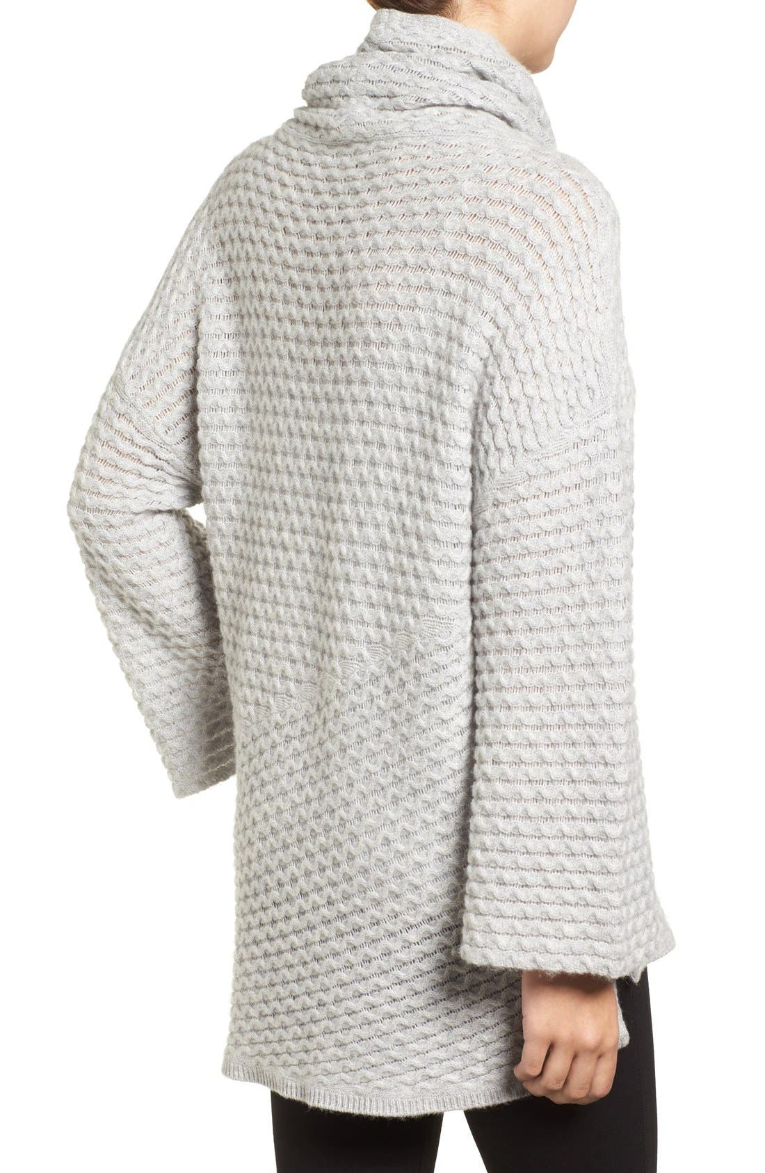 Alternate Image 2  - Halogen® Wool & Cashmere Sweater (Regular & Petite)