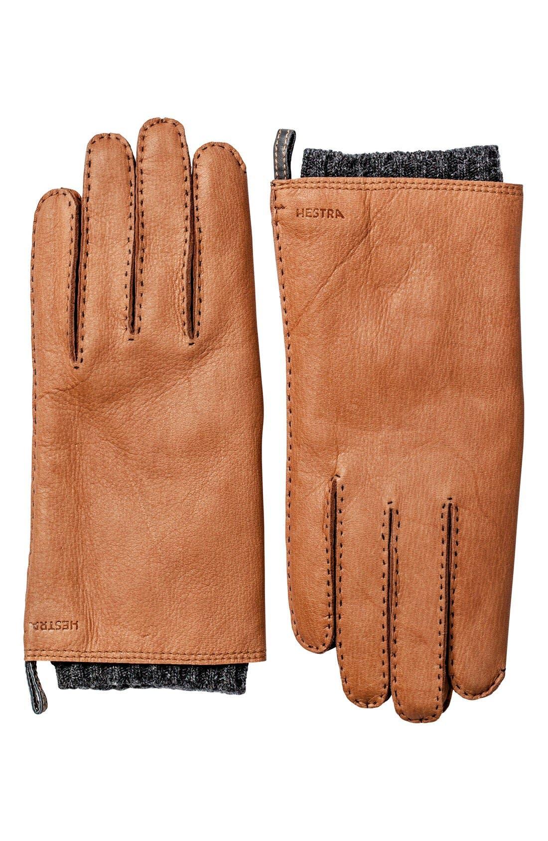Alternate Image 1 Selected - Hestra 'Tony' Deerksin Leather Gloves