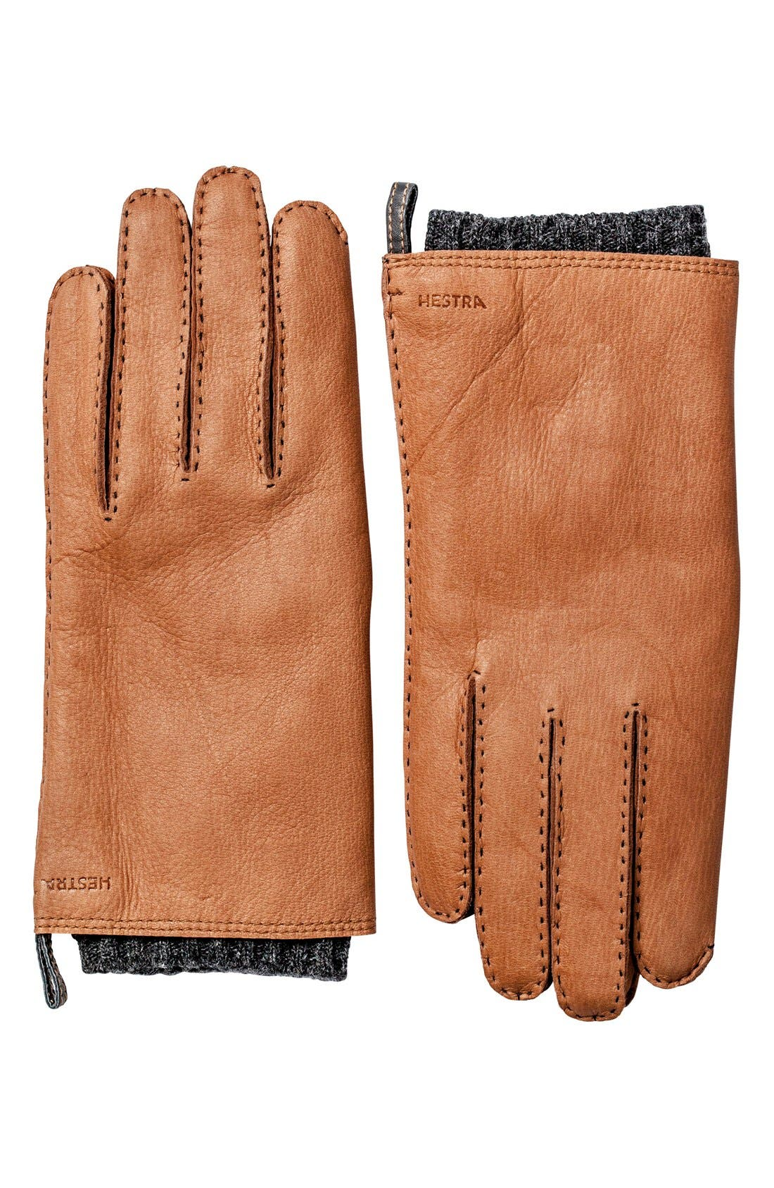 Main Image - Hestra 'Tony' Deerksin Leather Gloves