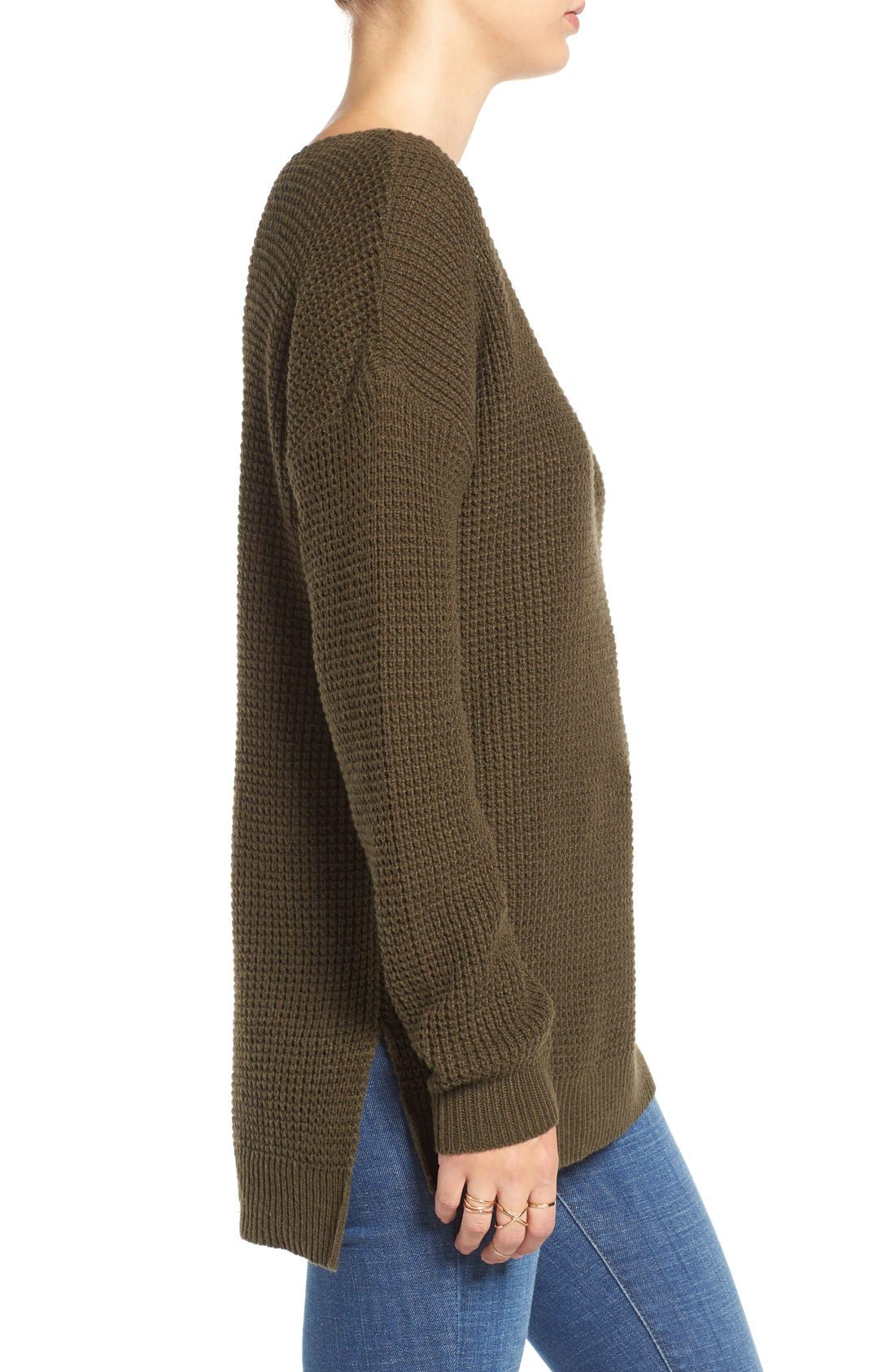 Alternate Image 3  - BP. Texture Knit Pullover