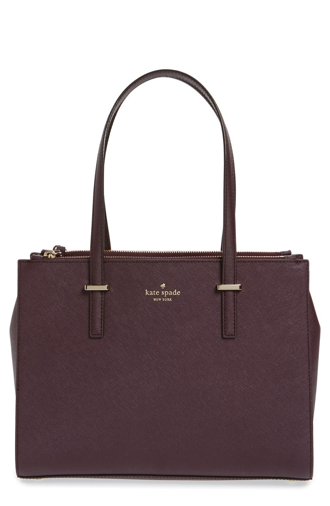 Alternate Image 1 Selected - kate spade new york 'cedar street - small jensen' leather tote
