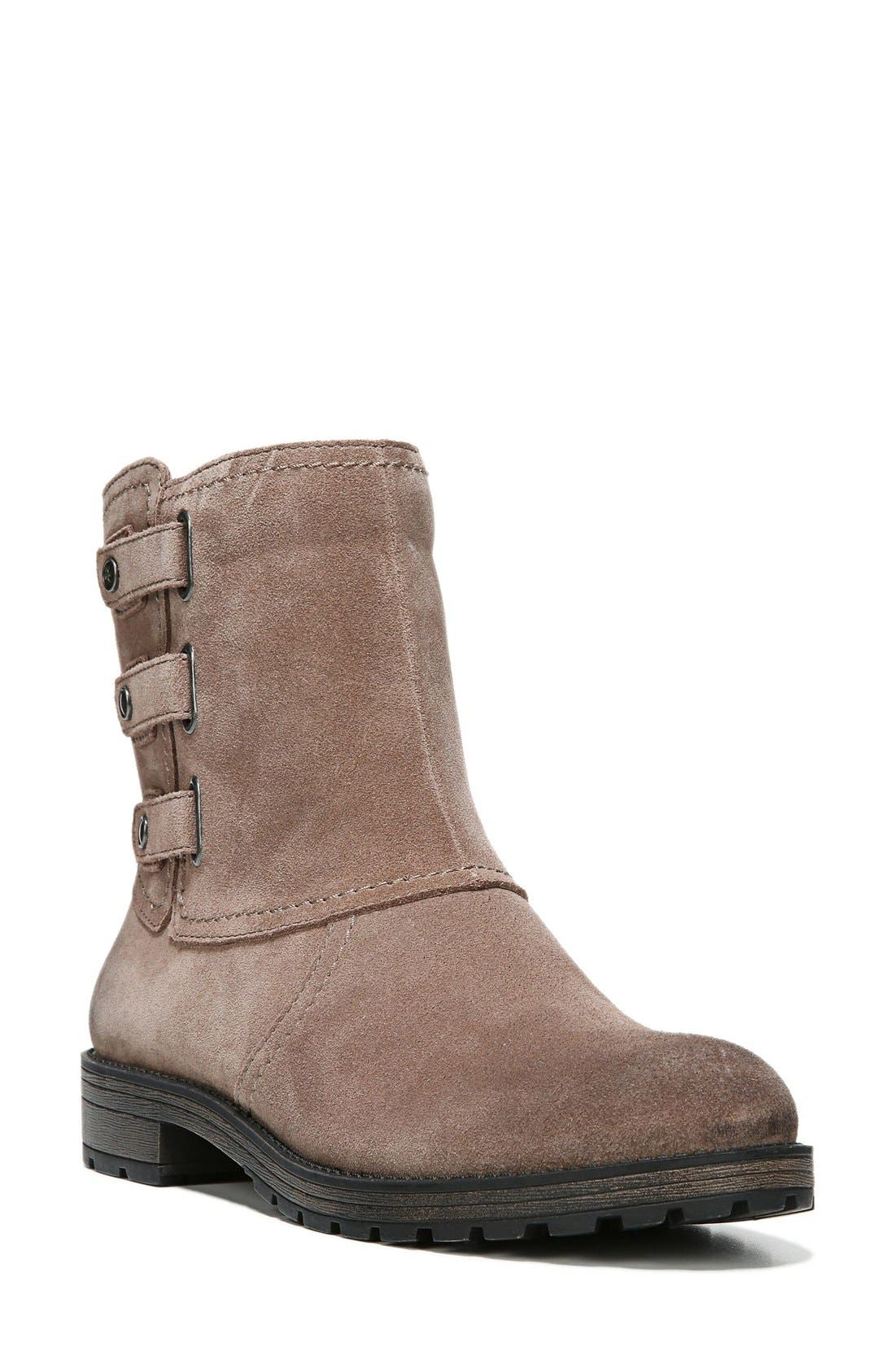 'Tynner' Boot,                             Main thumbnail 1, color,                             Taupe Leather