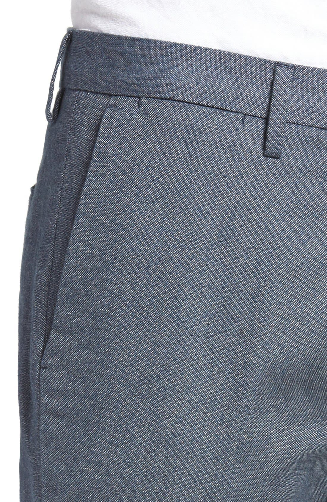 Alternate Image 4  - Bonobos Foundation Slim Fit Trousers