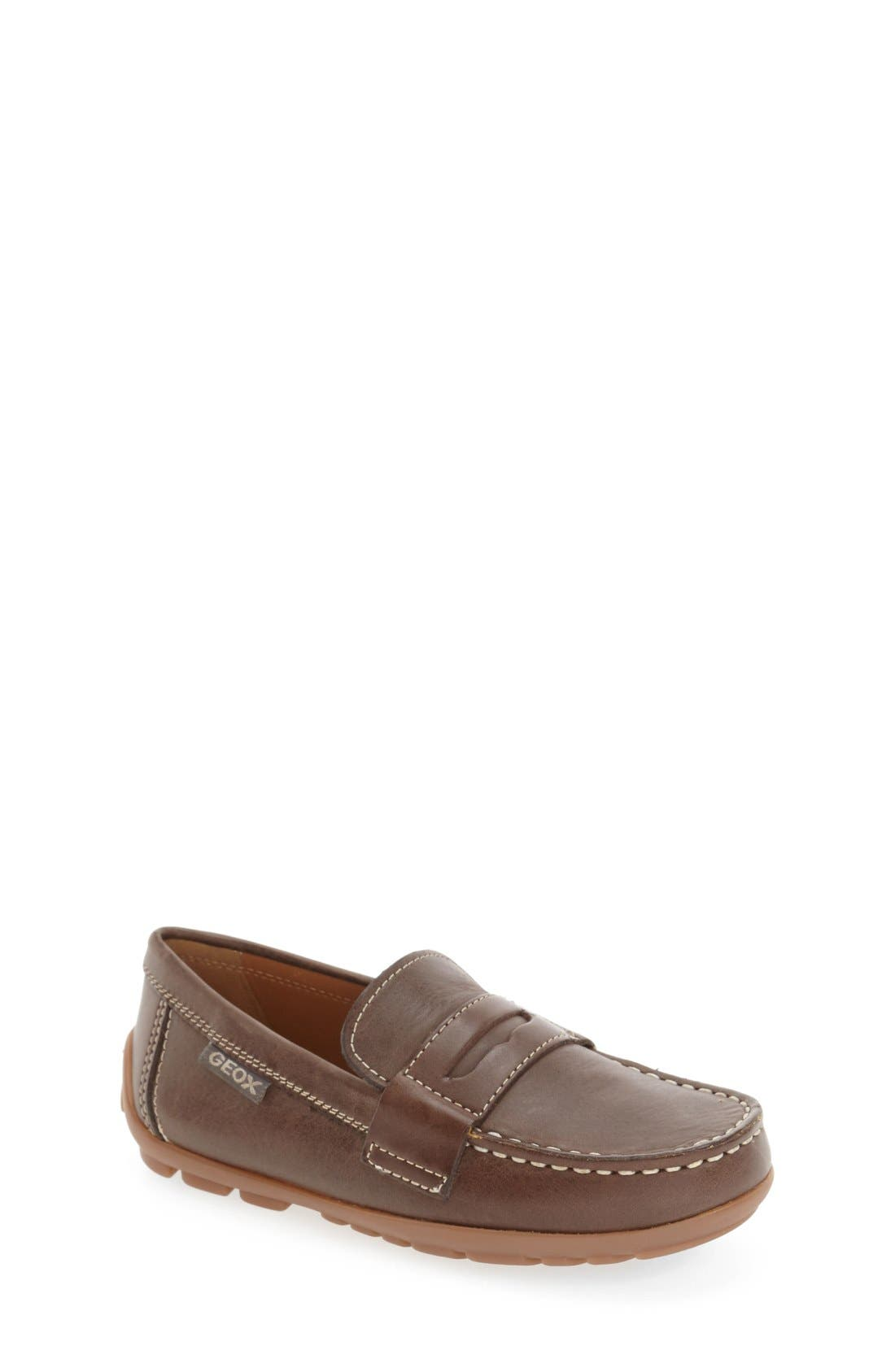 Main Image - Geox 'Fast' Penny Loafer (Toddler, Little Kid & Big Kid)