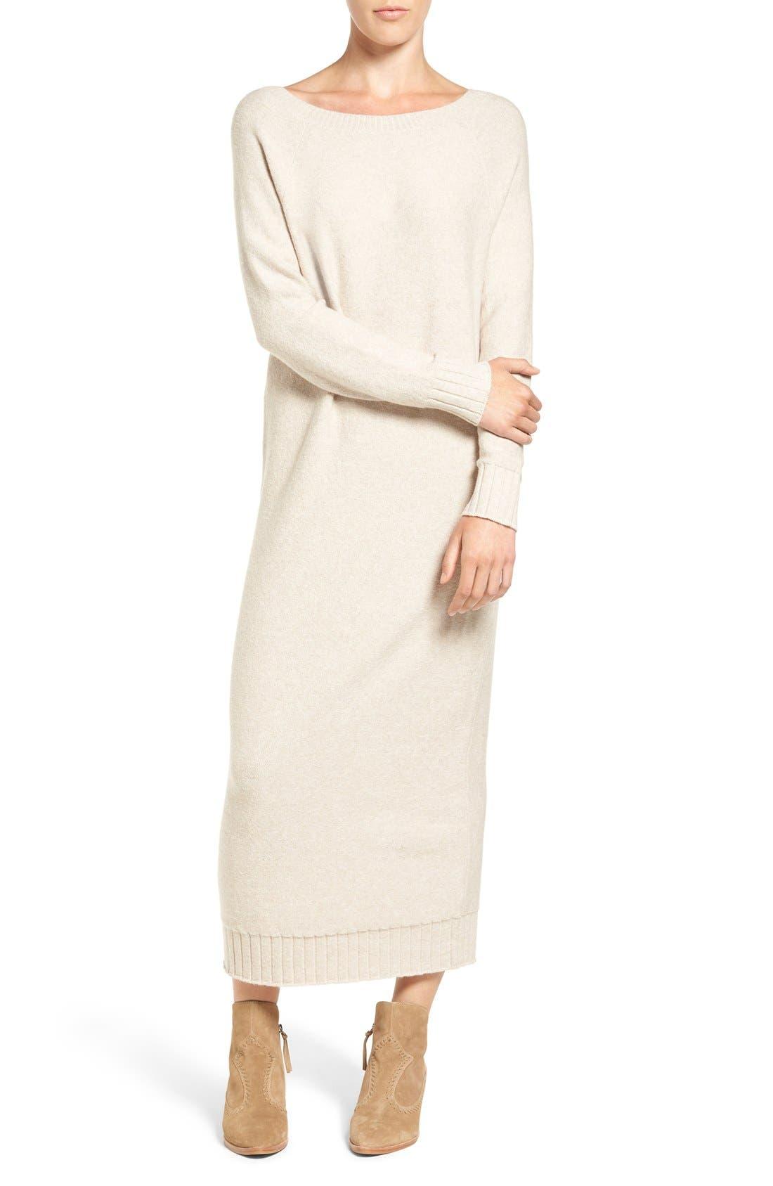 Hinge V-Back Sweater Dress