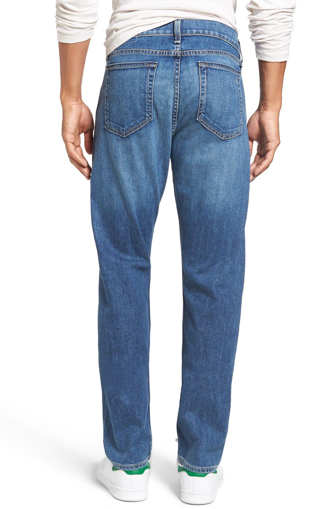 Alternate Image 2  - rag & bone Standard Issue Fit 3 Slim Straight Leg Jeans (Bainbridge)