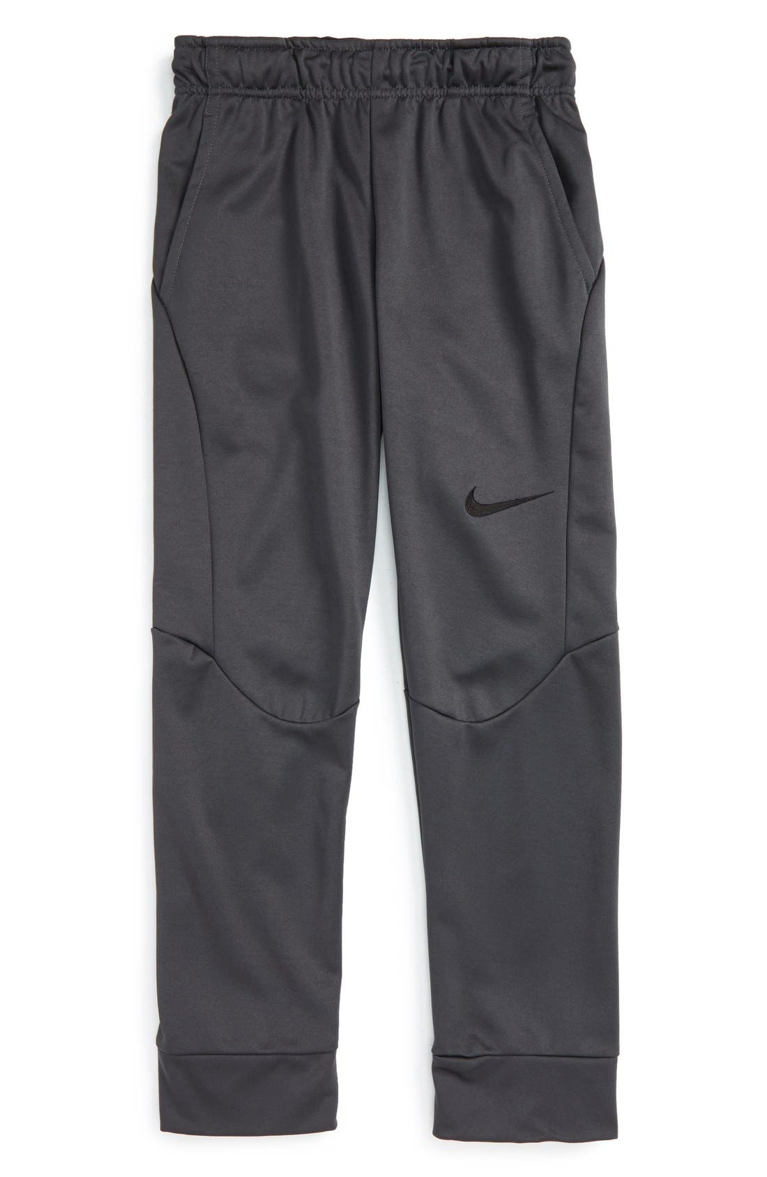 Alternate Image 1 Selected - Nike Therma-FIT Tapered Fleece Pants (Big Boys)