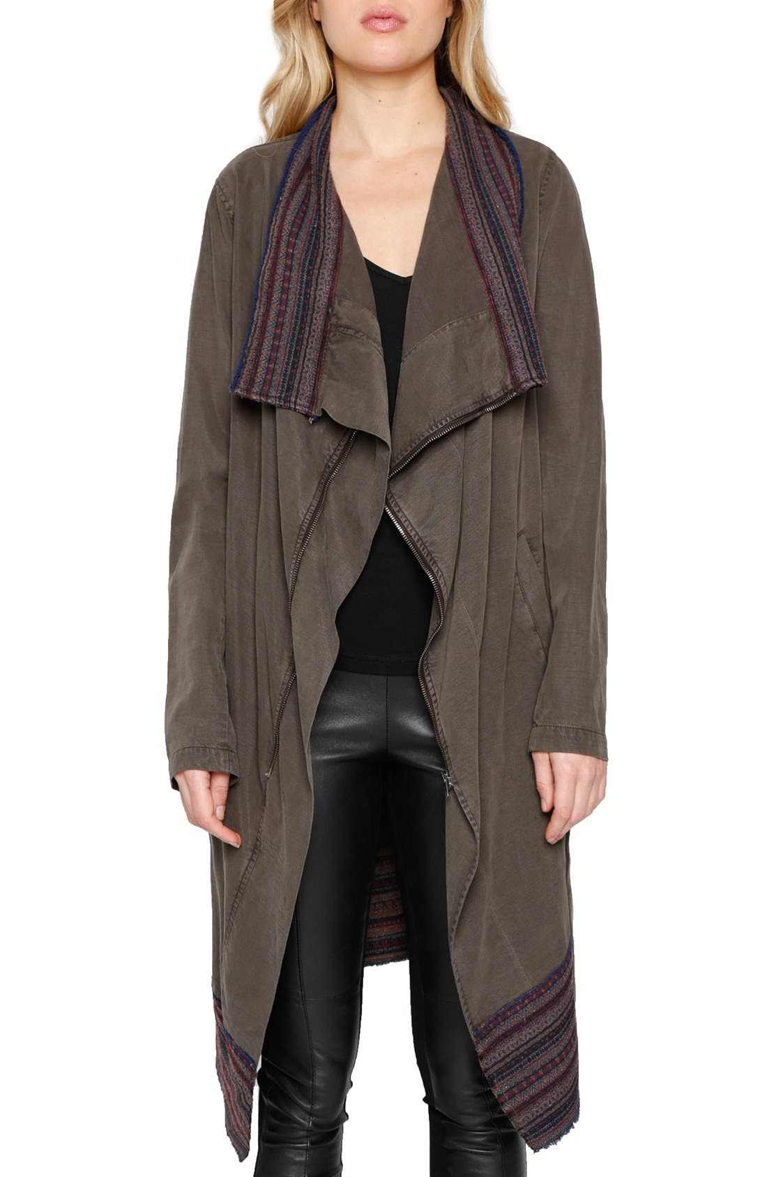 Alternate Image 1 Selected - Willow & Clay Cascade Front Jacket
