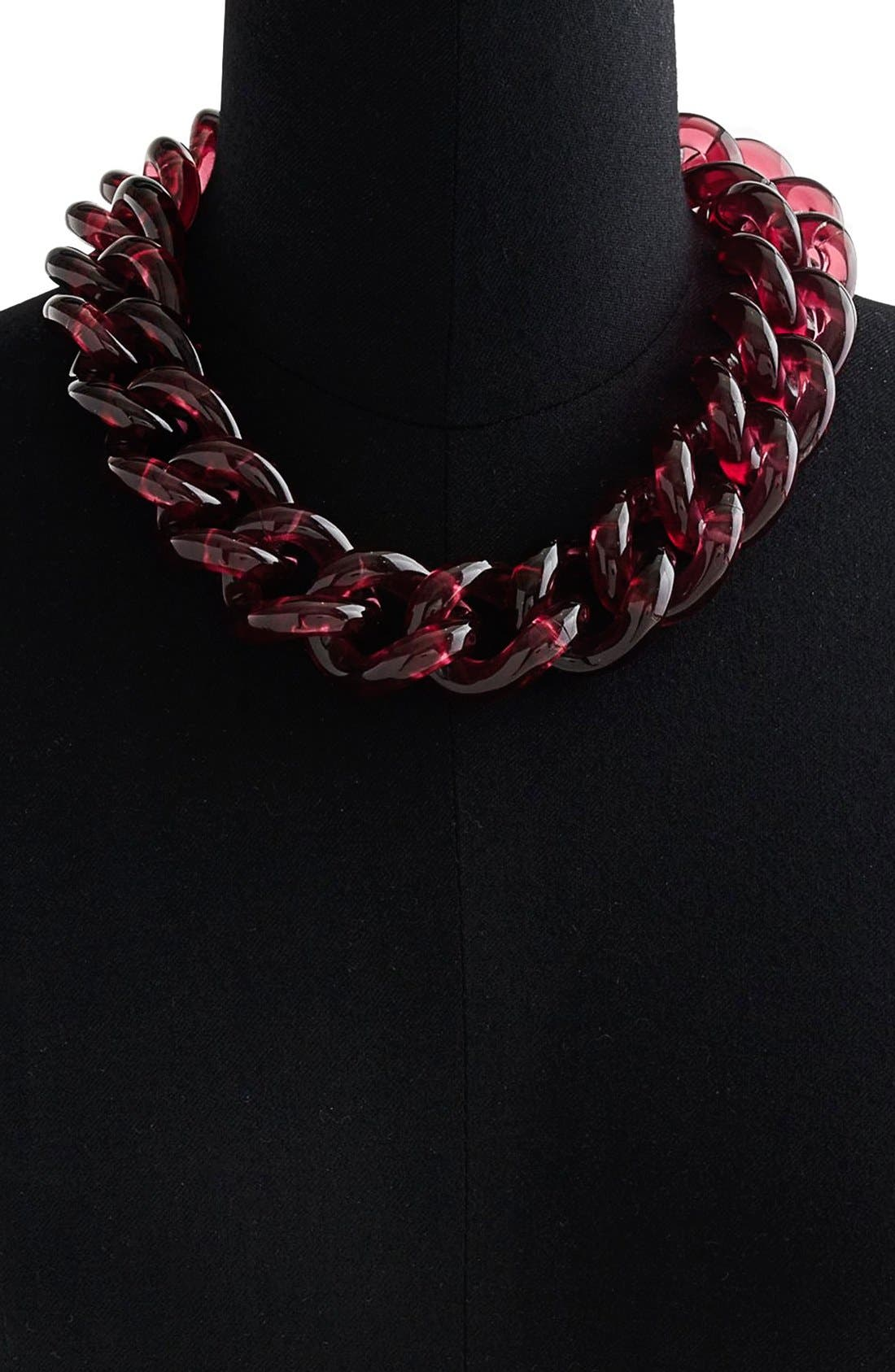 Alternate Image 2  - J.Crew 'Jumble' Small Lucite® Link Necklace
