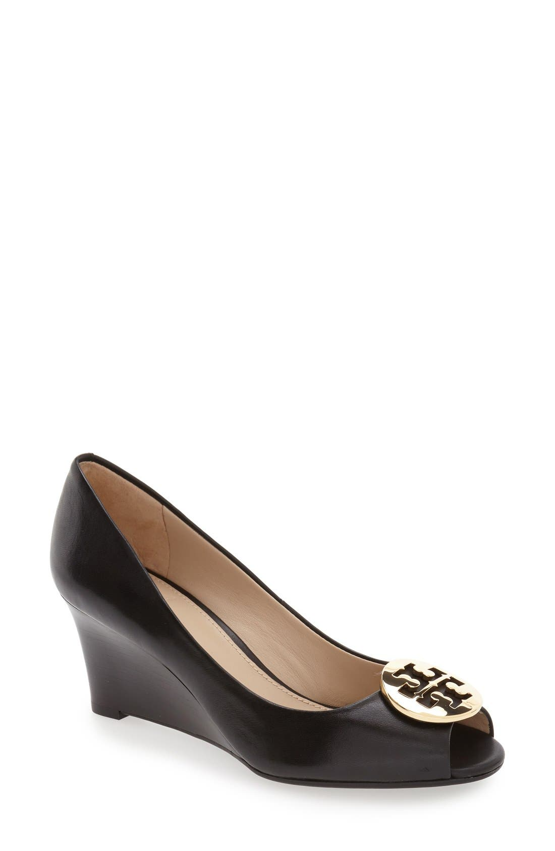 Tory Burch 'Kara' Wedge Pump (Women)