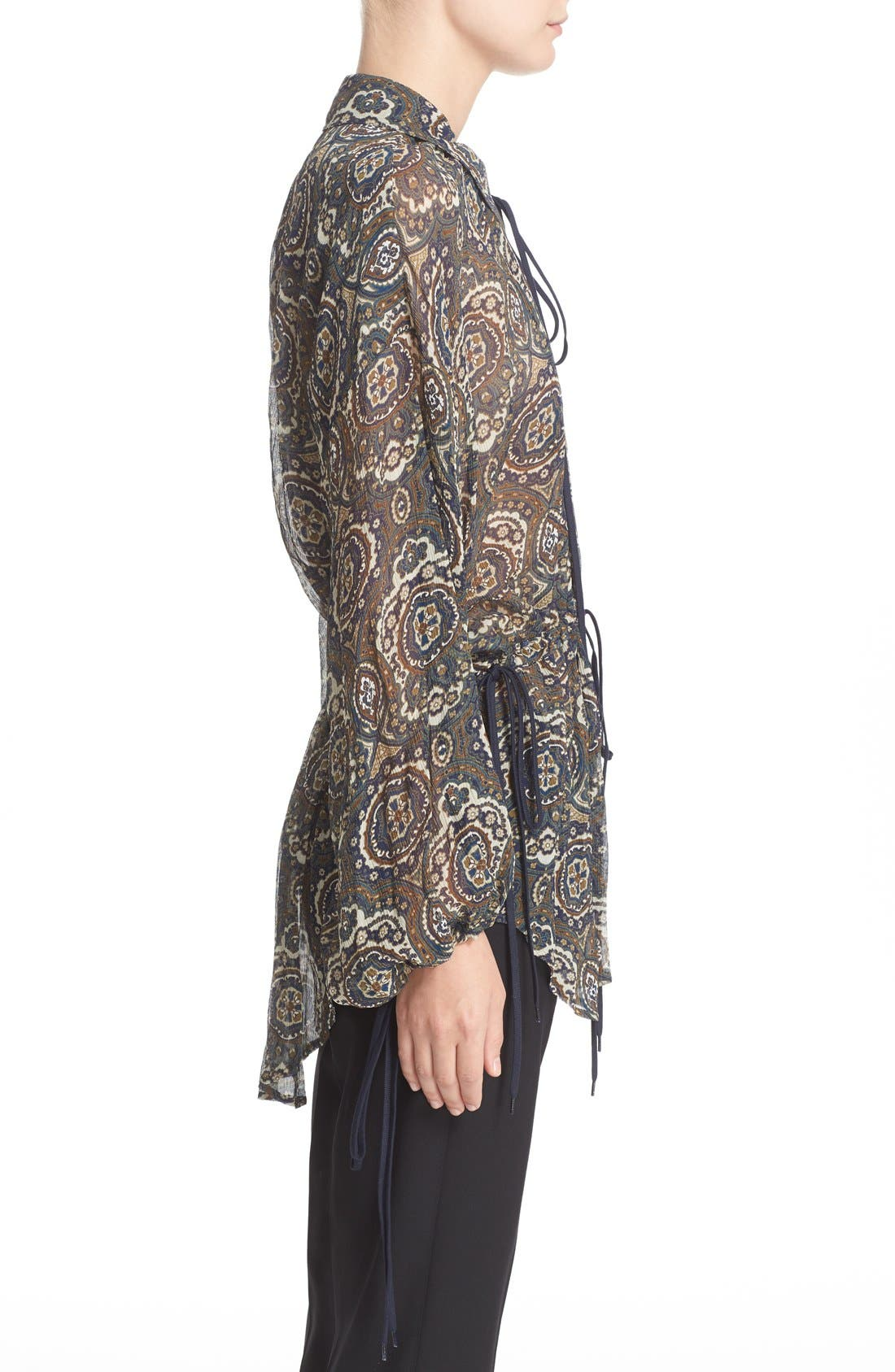 Alternate Image 5  - Chloé Medallion Print Silk Crepon Blouse