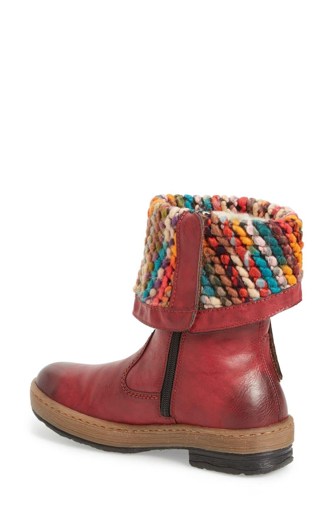 Alternate Image 2  - Rieker Antistress 'Felicitas 98' Foldover Boot (Women)