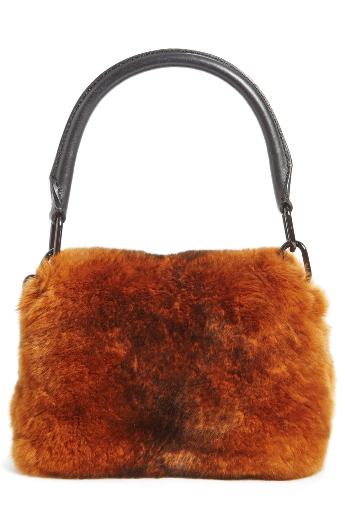 Alternate Image 2  - Alexander Wang Mini Genuine Rabbit Fur Handbag