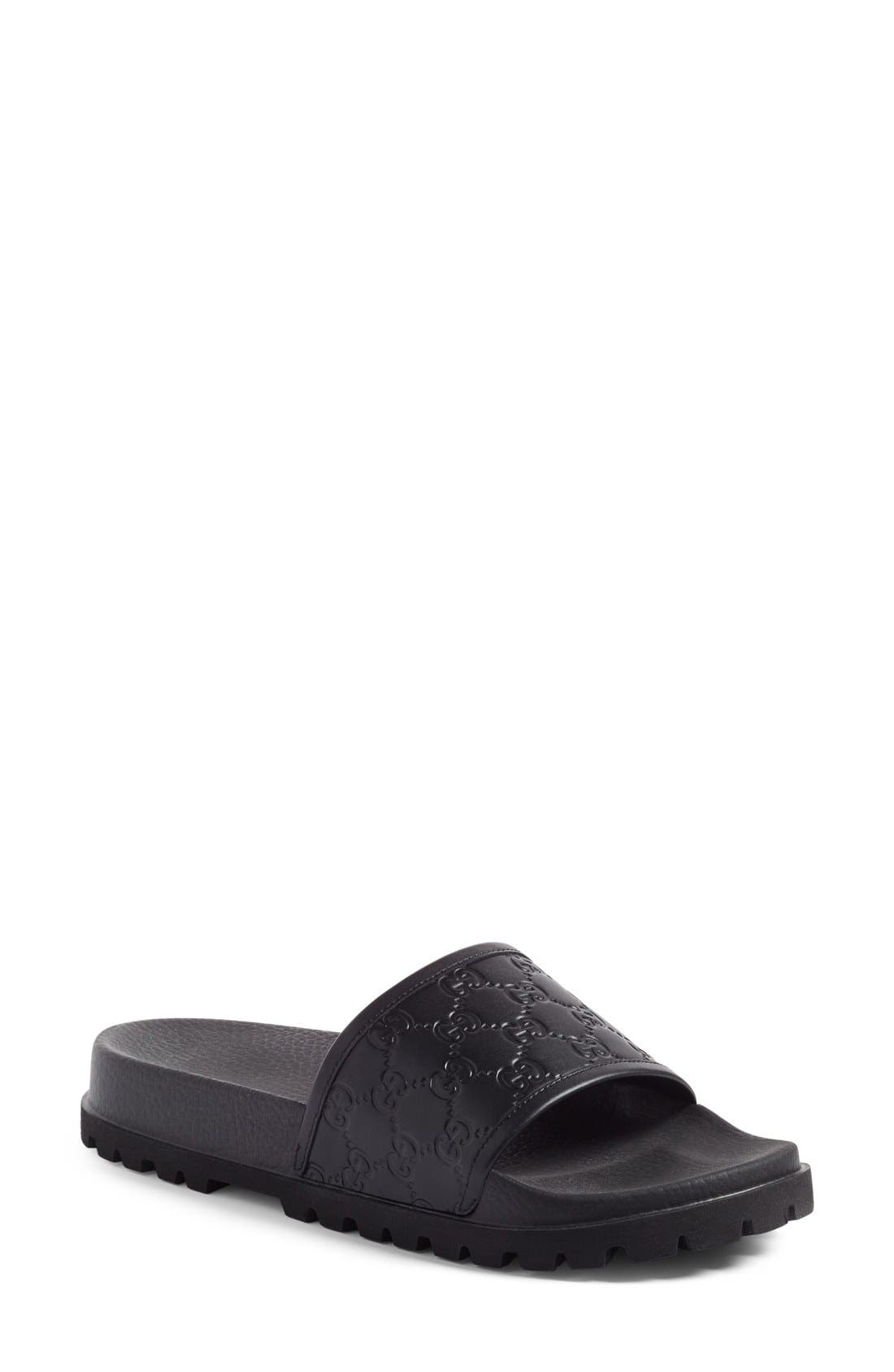 Gucci 'Pursuit Treck' Slide Sandal (Men)