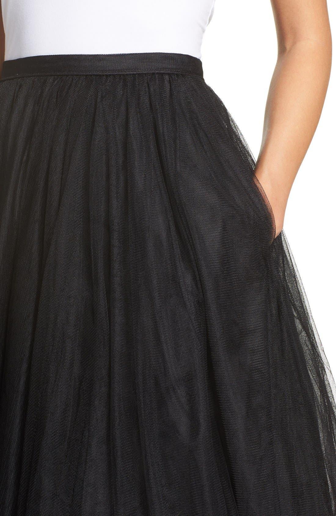 Alternate Image 4  - Jenny Yoo 'Lucy' Tulle Skirt
