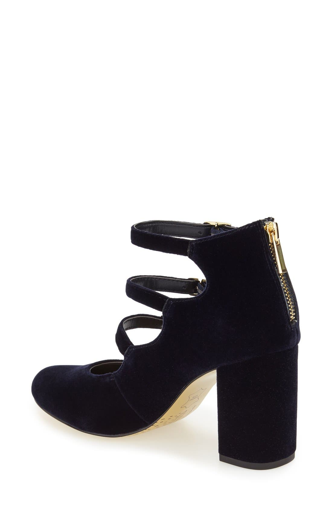 Alternate Image 2  - Bella Vita 'Nettie' Block Heel Pump (Women)
