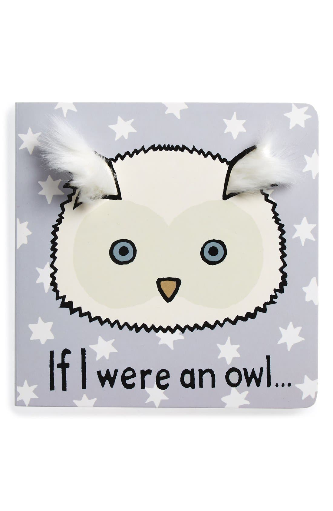'If I Were an Owl' Board Book,                             Main thumbnail 1, color,                             Grey