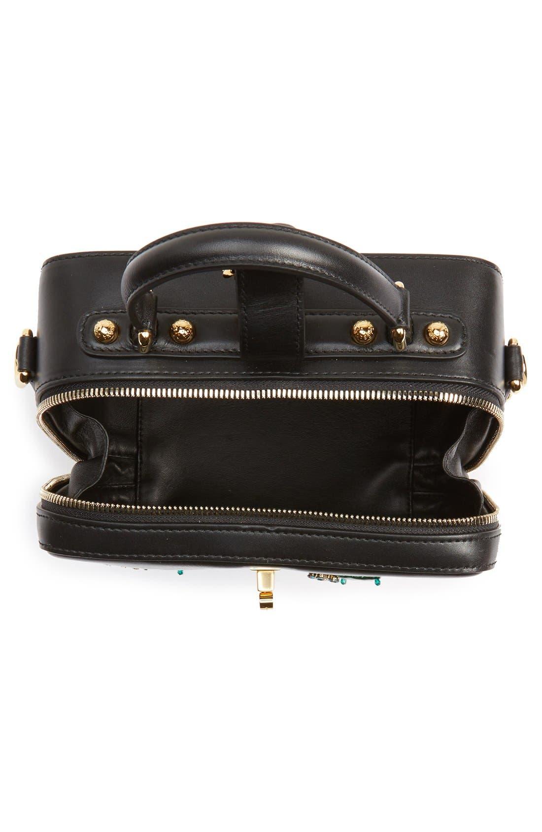 Alternate Image 2  - Dolce&Gabanna 'Small - Most Beautiful' Crystal Flower Embellished Leather Handbag