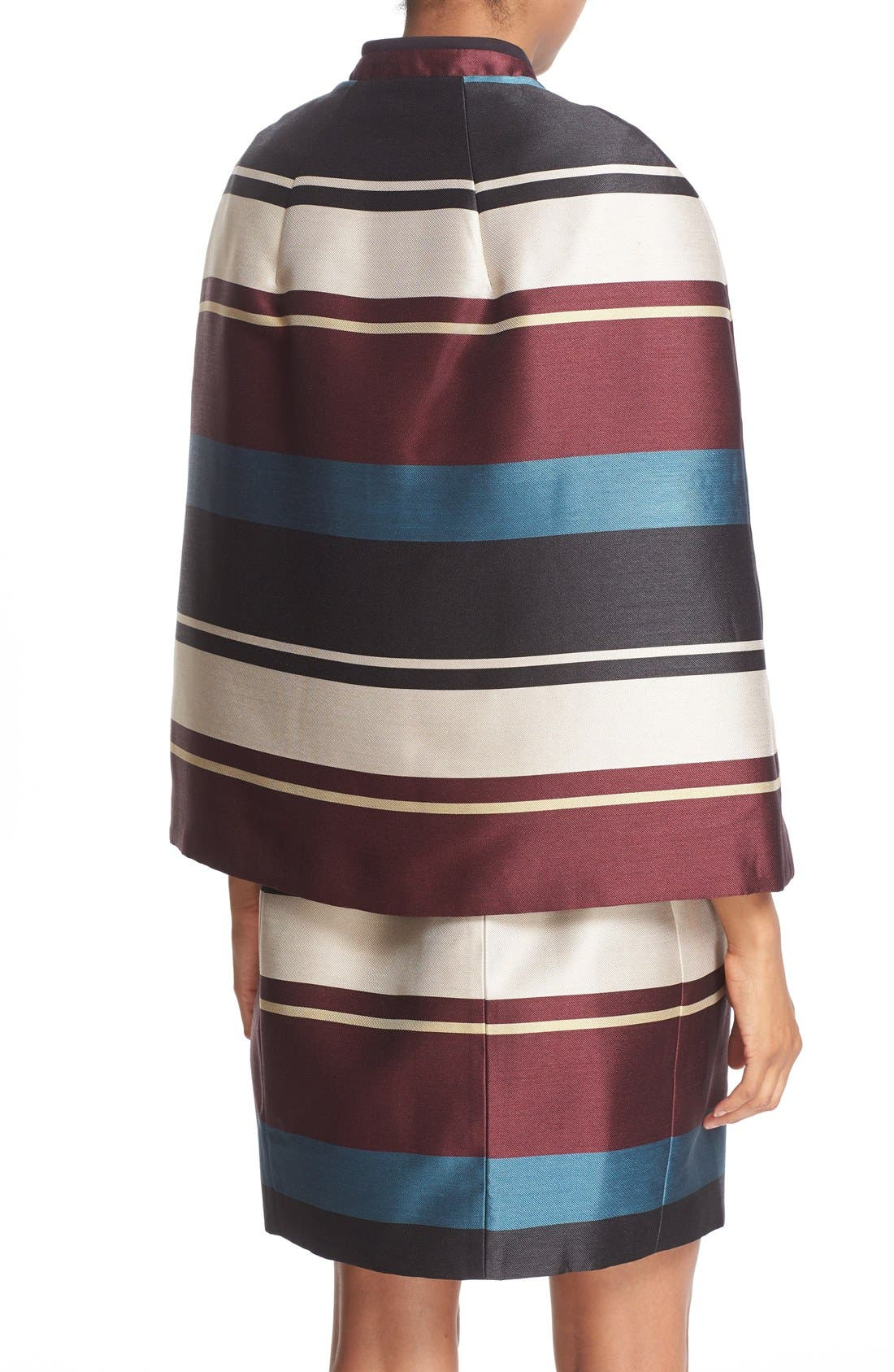 Alternate Image 3  - Ted Baker London 'Zuavi' Stripe Jacquard Cape