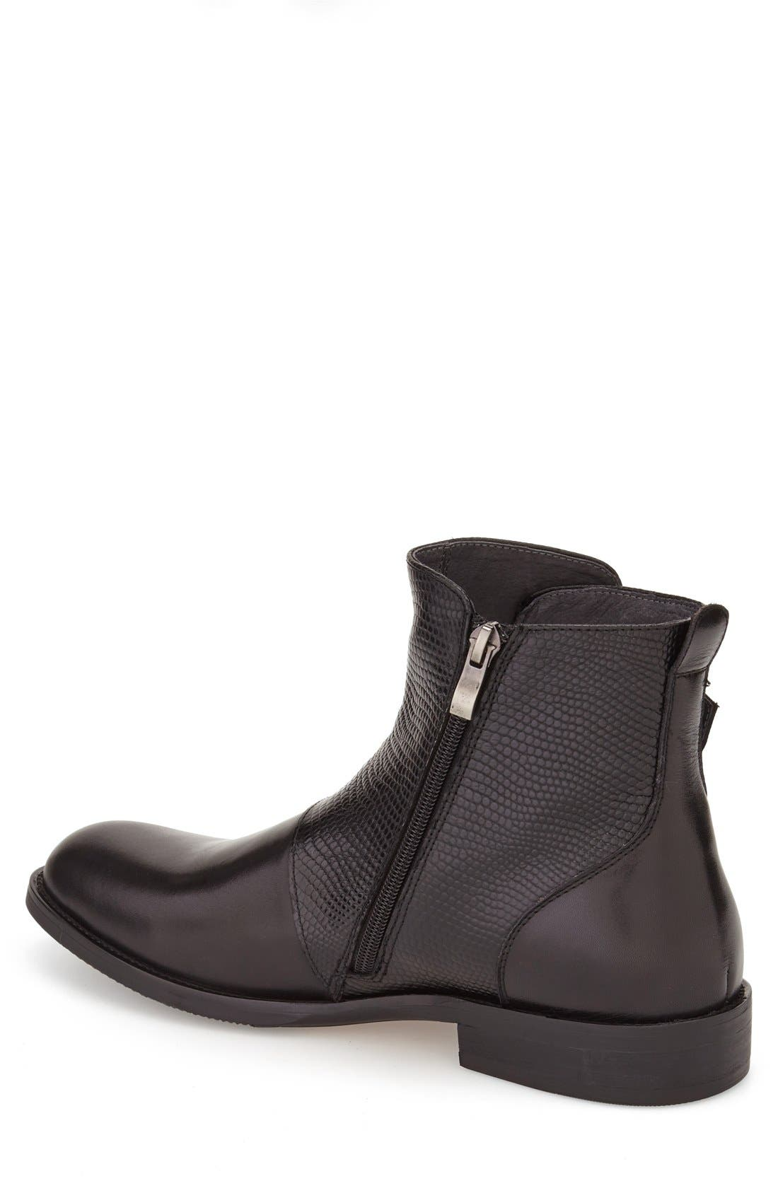 Alternate Image 2  - Zanzara 'Messina' Zip Boot (Men)