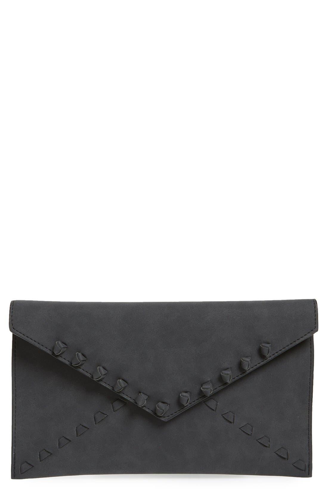 Main Image - Danielle Nicole 'Tina' Faux Leather Envelope Clutch