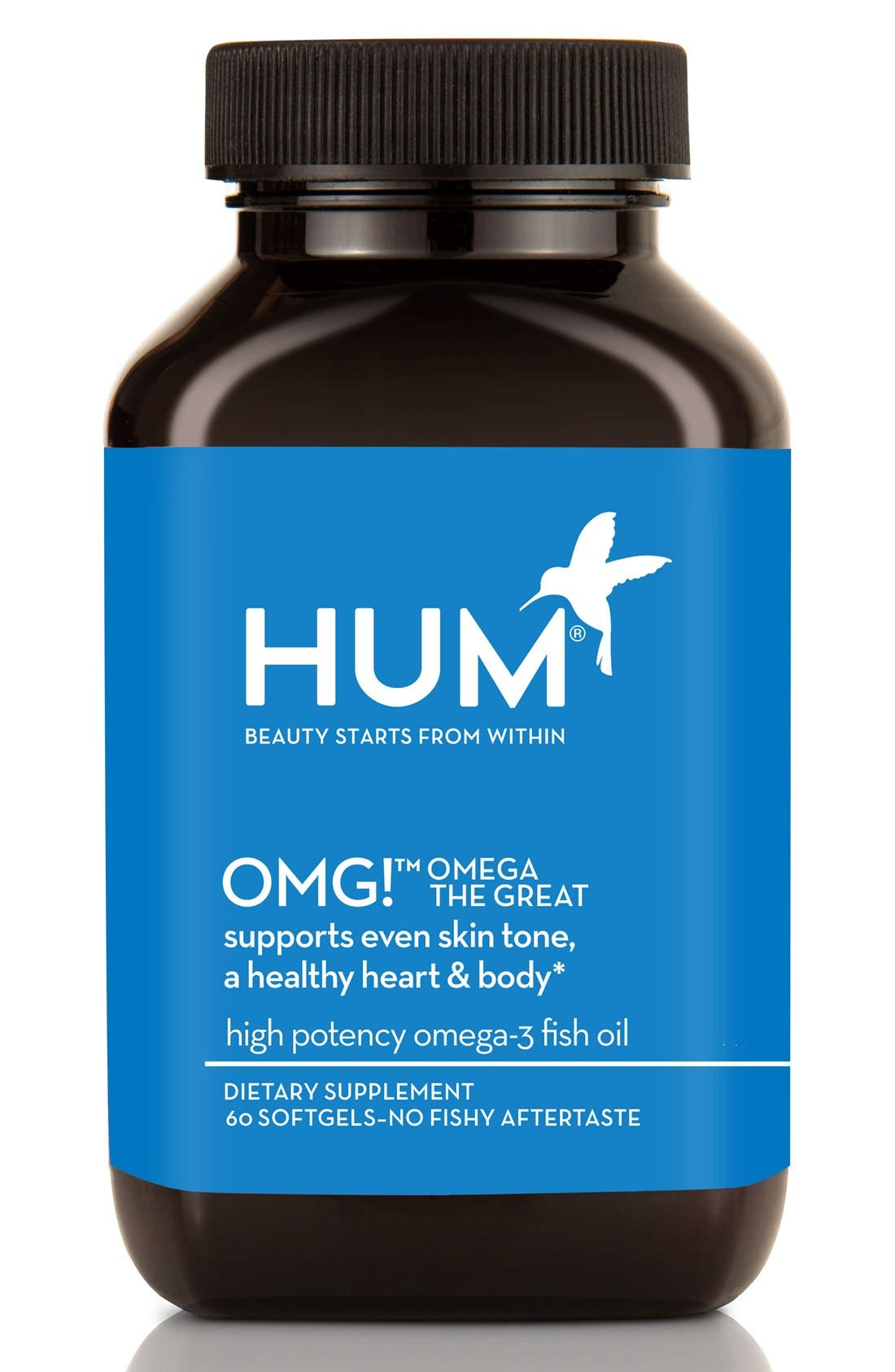 Alternate Image 1 Selected - Hum Nutrition OMG! Omega the Great Fish Oil Supplement