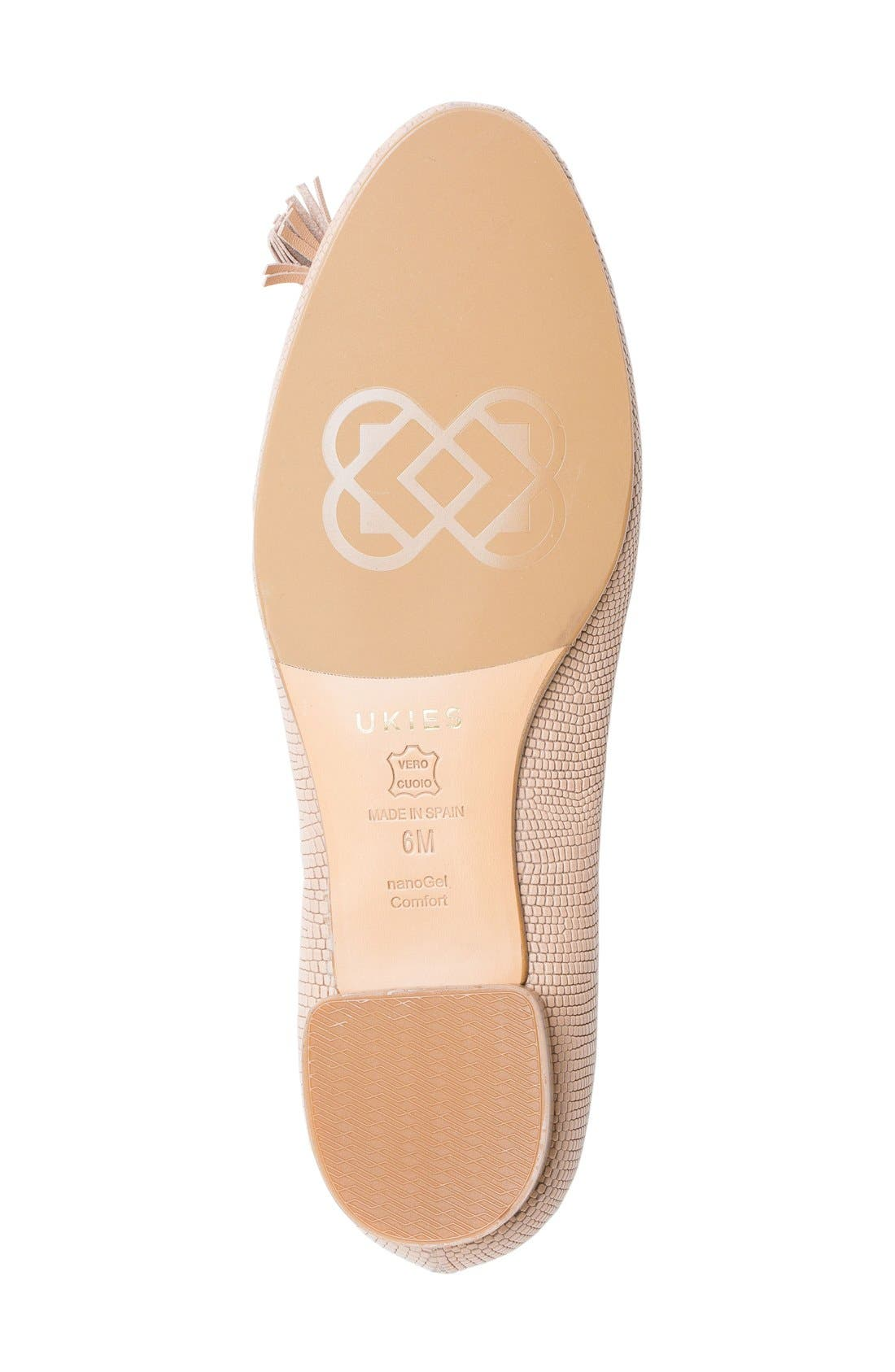 Alternate Image 4  - UKIES Lara Ballet Flat (Women)