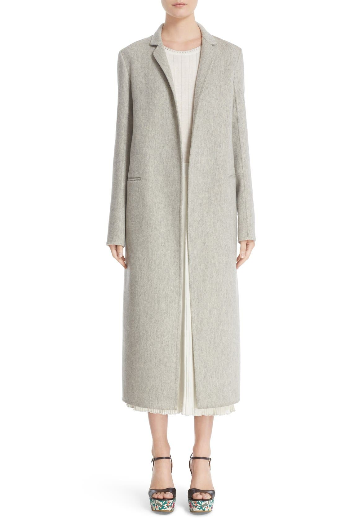 Main Image - Adam Lippes Double Face Cashmere & Wool Coat