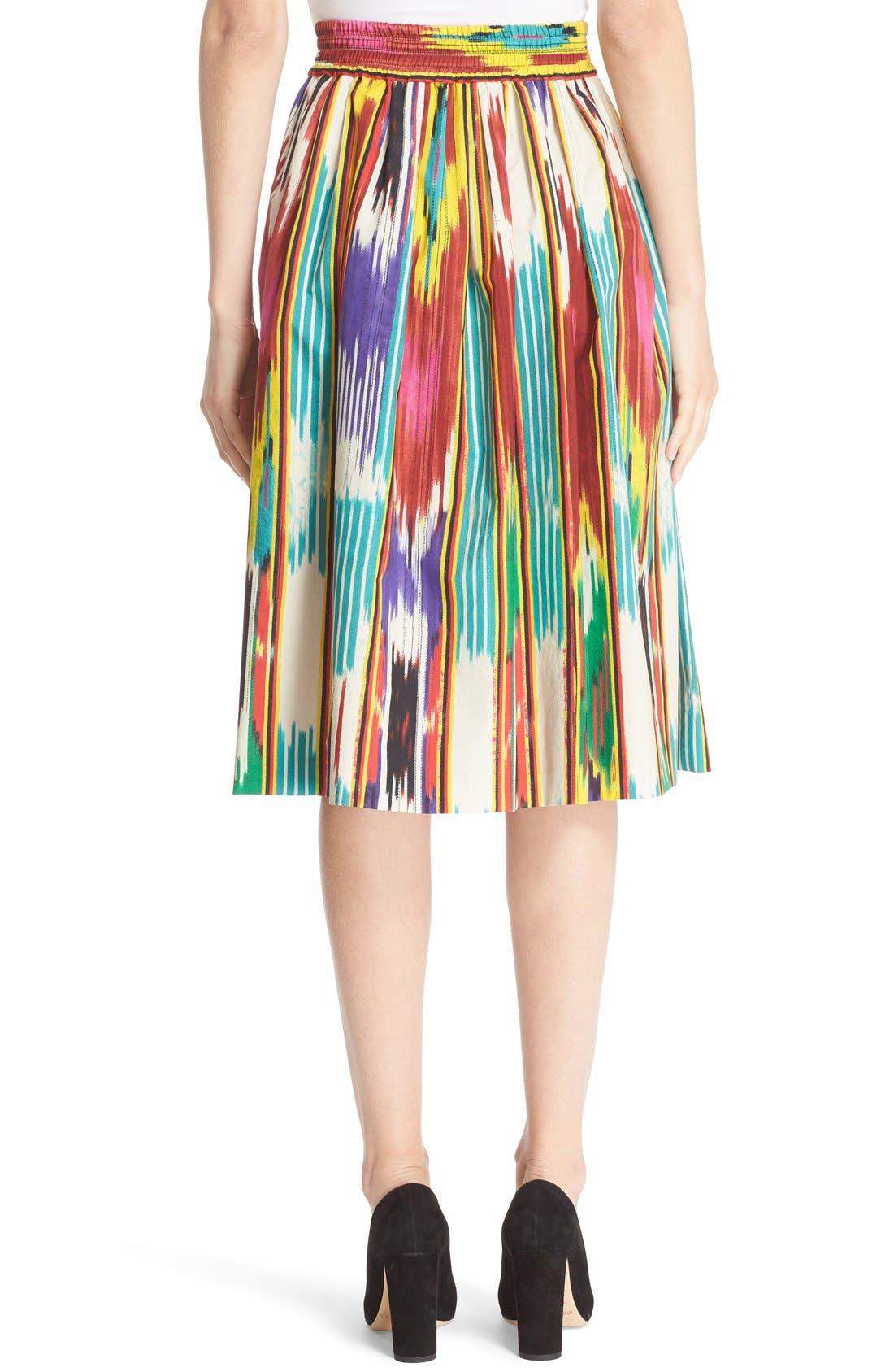 Alternate Image 2  - Etro Ikat Print Skirt
