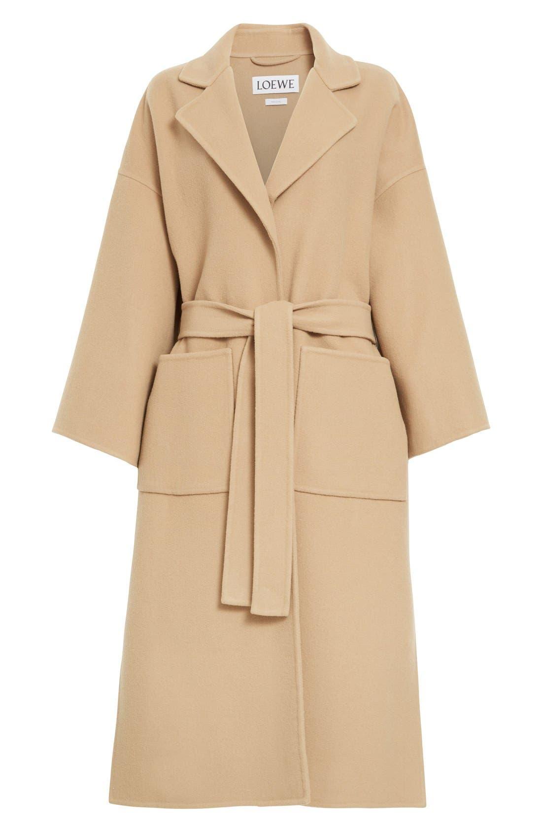 Alternate Image 4  - Loewe Double Face Cashmere & Wool Coat