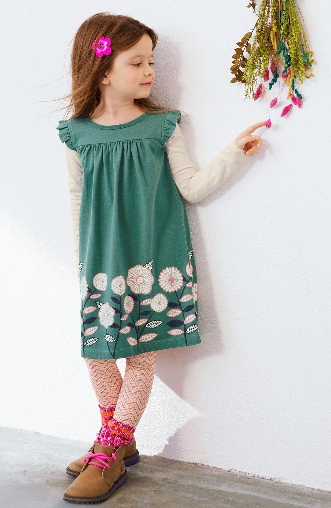 Alternate Image 3  - Tea Collection 'Midori - Double Decker' Layered Dress (Toddler Girls, Little Girls & Big Girls)