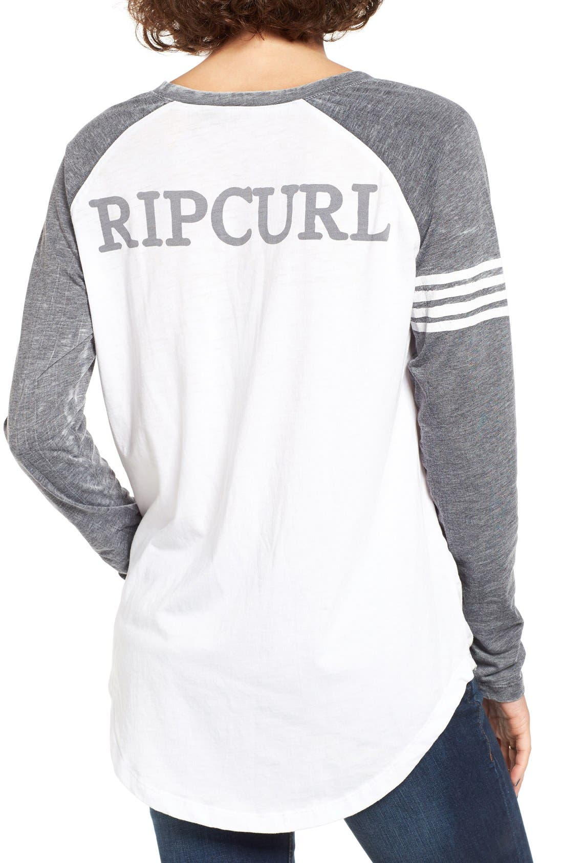 Alternate Image 2  - Rip Curl Surf Bird Graphic Baseball Tee