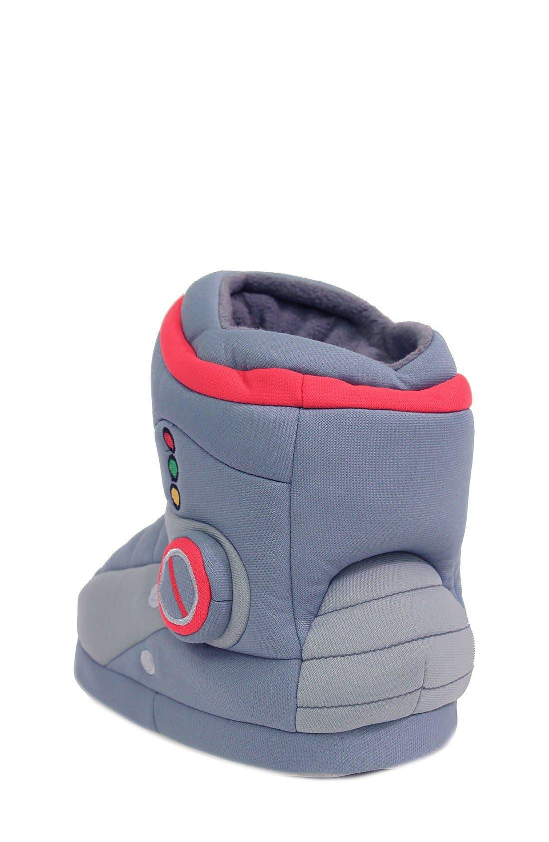 Alternate Image 2  - Trimfit Robot Slipper Boot (Toddler & Little Kid)
