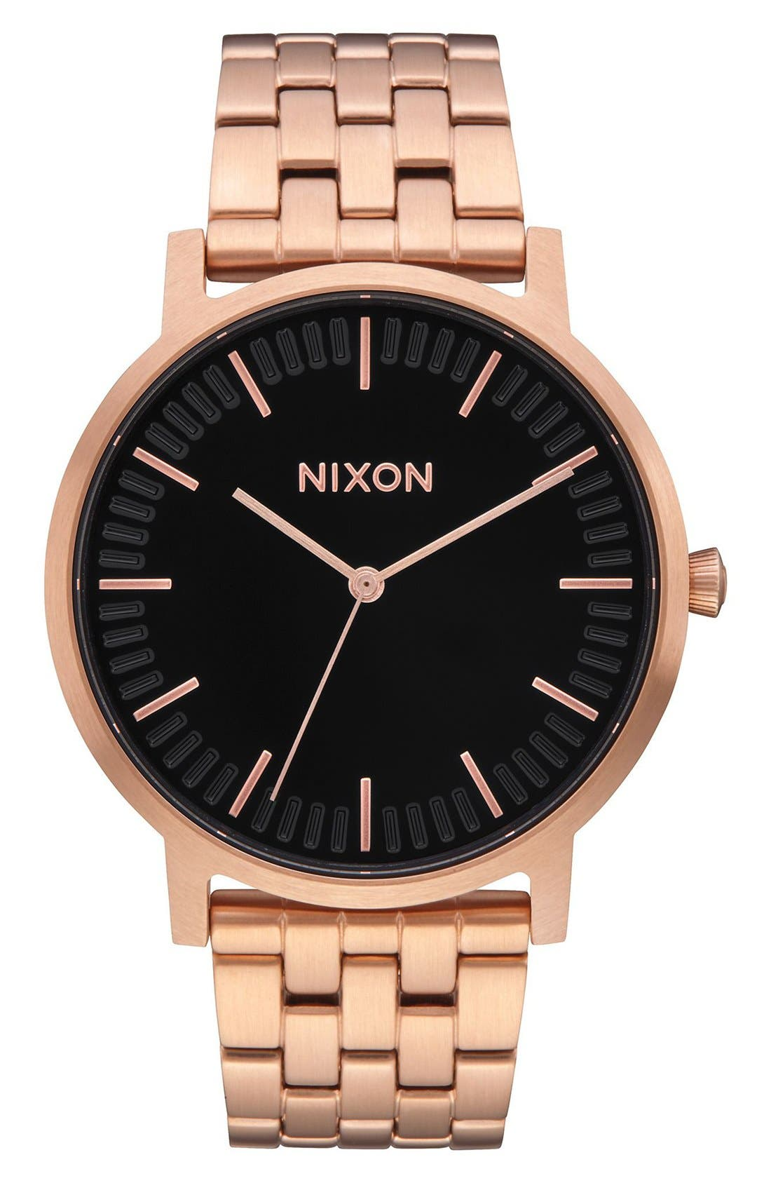Porter Bracelet Watch, 40mm,                         Main,                         color, Rose Gold