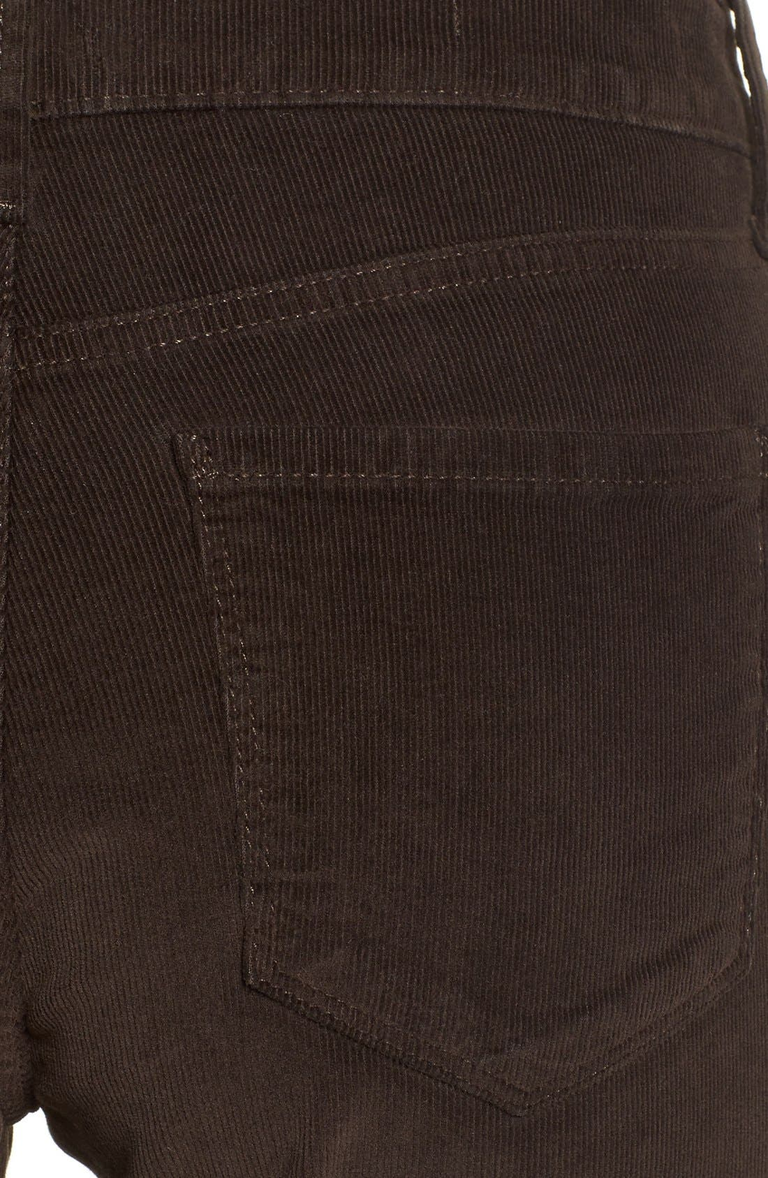 Alternate Image 4  - NYDJ 'Alina' Skinny Stretch Corduroy Pants (Regular & Petite)