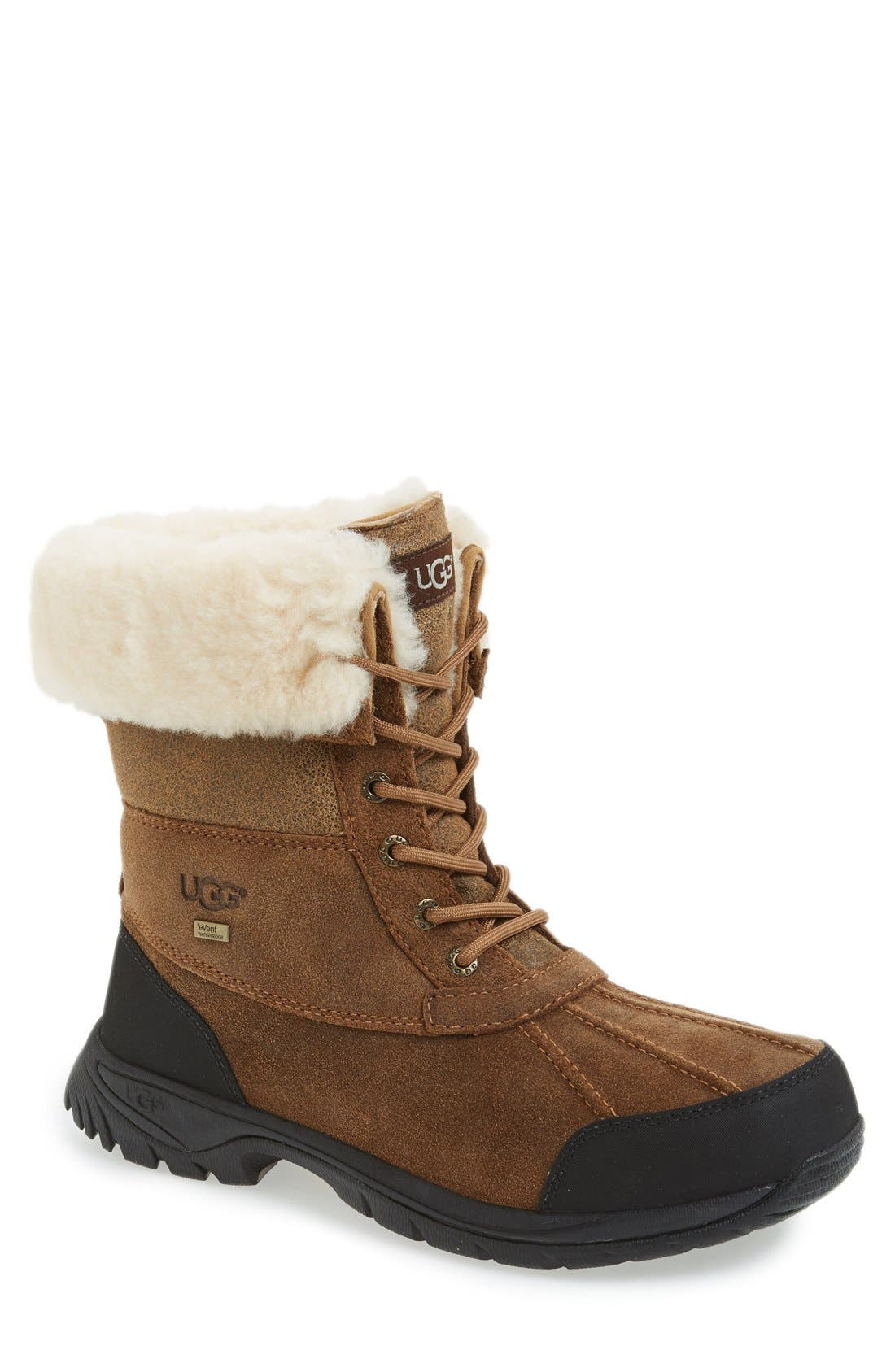 Alternate Image 1 Selected - UGG® Butte Bomber Snow Boot (Men)