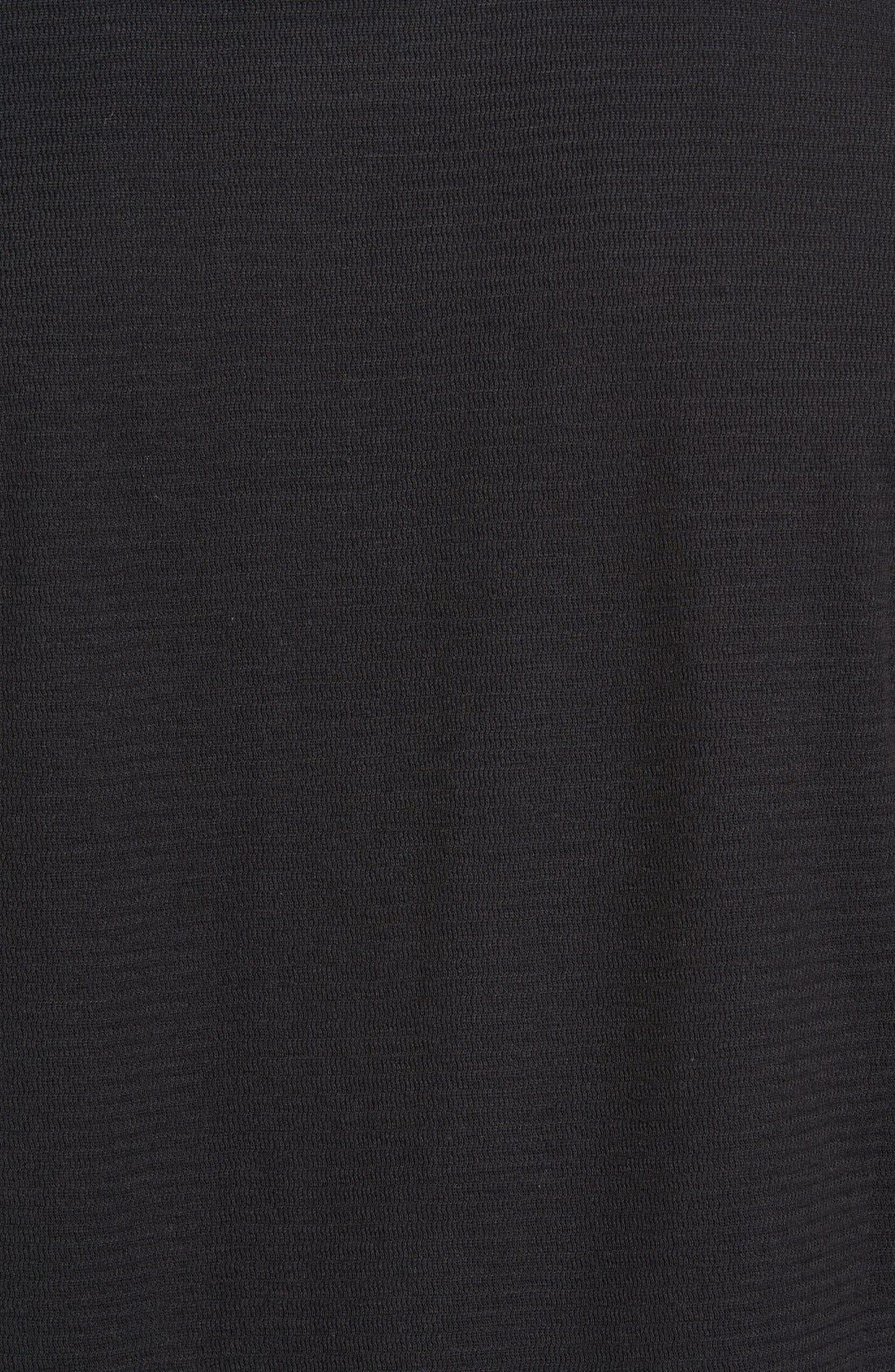 Larsen Zigzag Thermal T-Shirt,                             Alternate thumbnail 5, color,                             Black