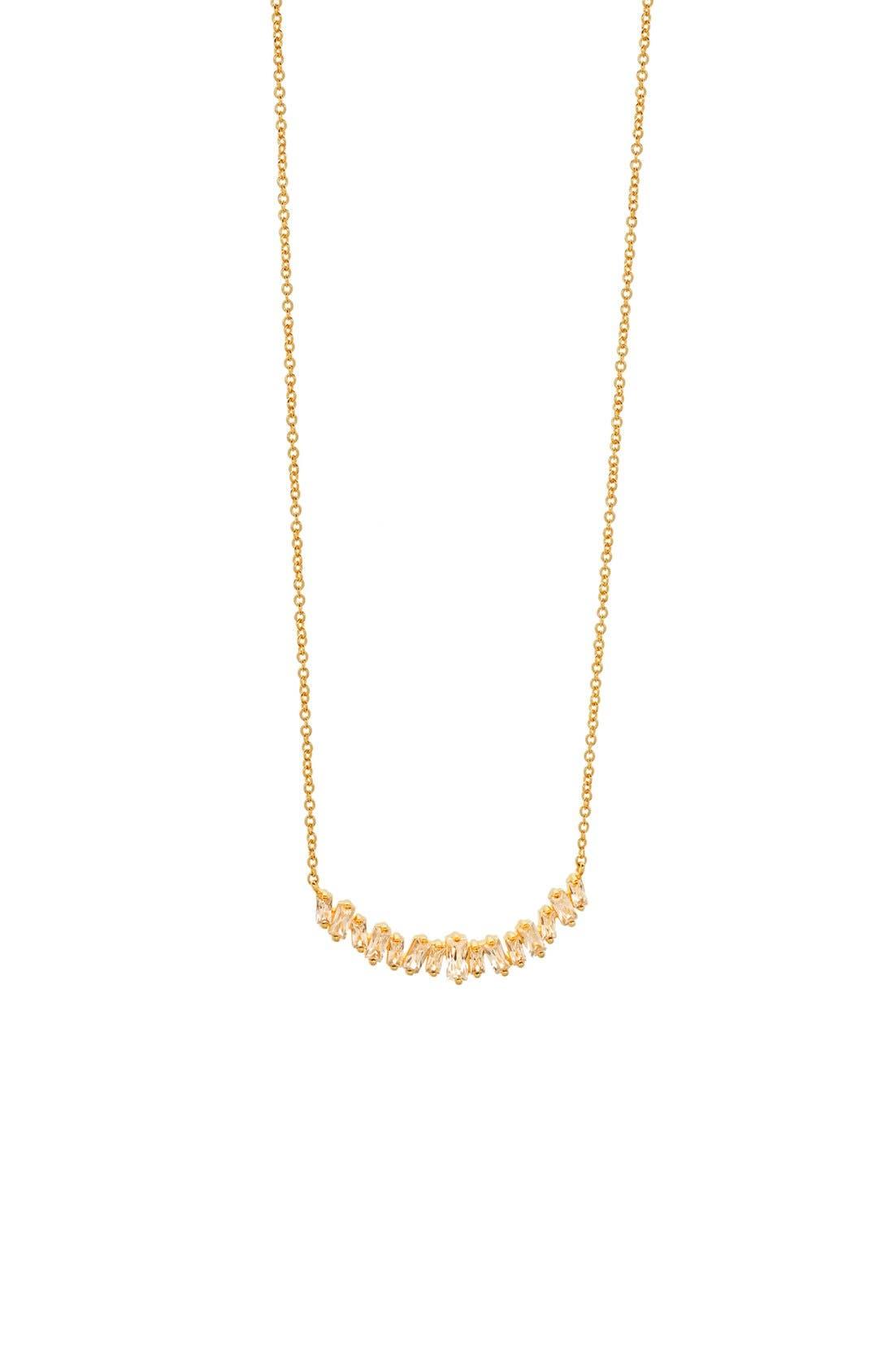 Amara Collar Necklace,                         Main,                         color, Gold