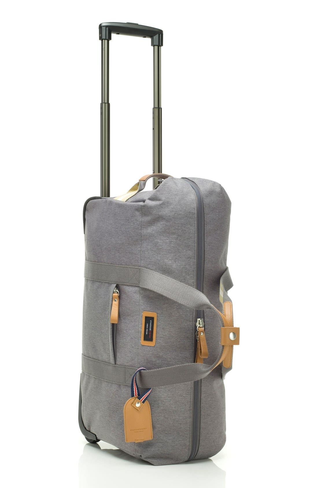 Alternate Image 2  - Storksak Cabin Wheeled Carry-On with Hanging Organizer