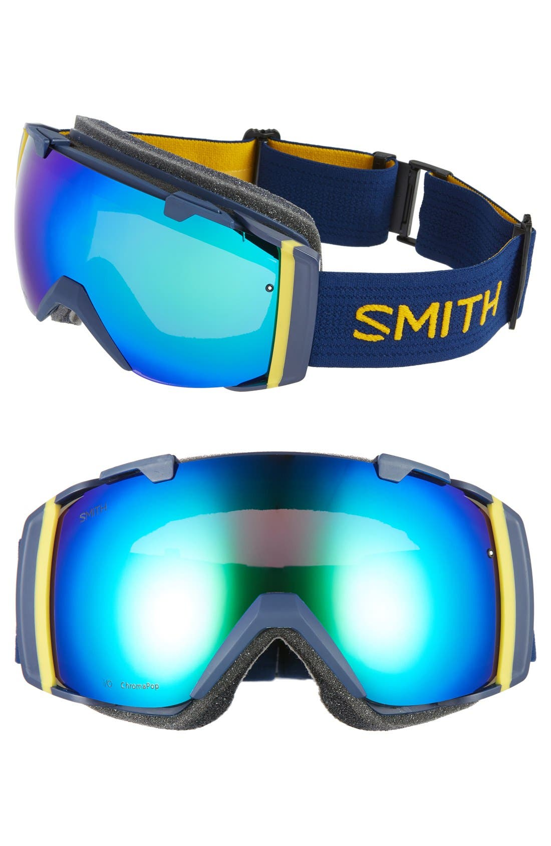 I/O 205mm Snow Goggles,                         Main,                         color, Navy Scout