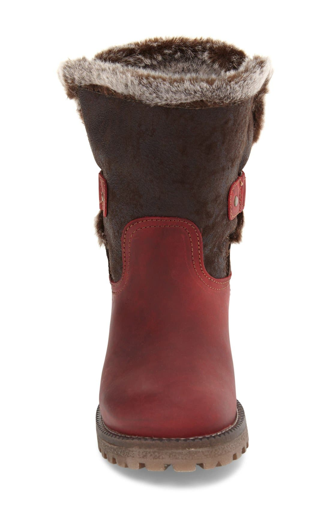Alternate Image 3  - Bos. & Co. Candy Waterproof Boot with Faux Fur Trim (Women)