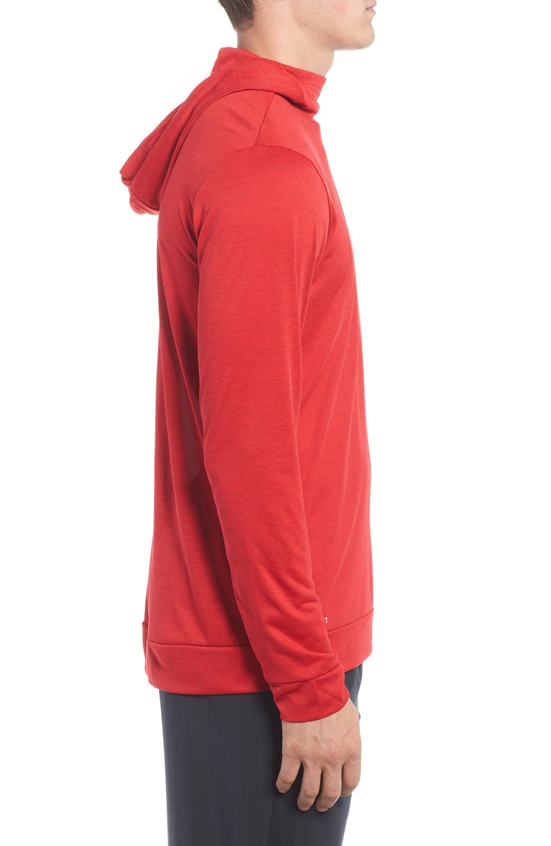 Alternate Image 3  - Nike Dri-FIT Training Hoodie
