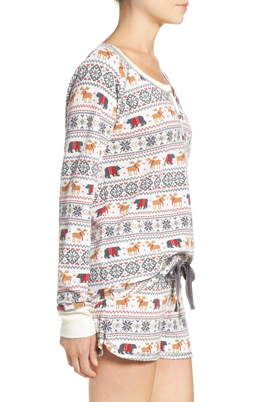 Alternate Image 3  - PJ Salvage Thermal Pajamas