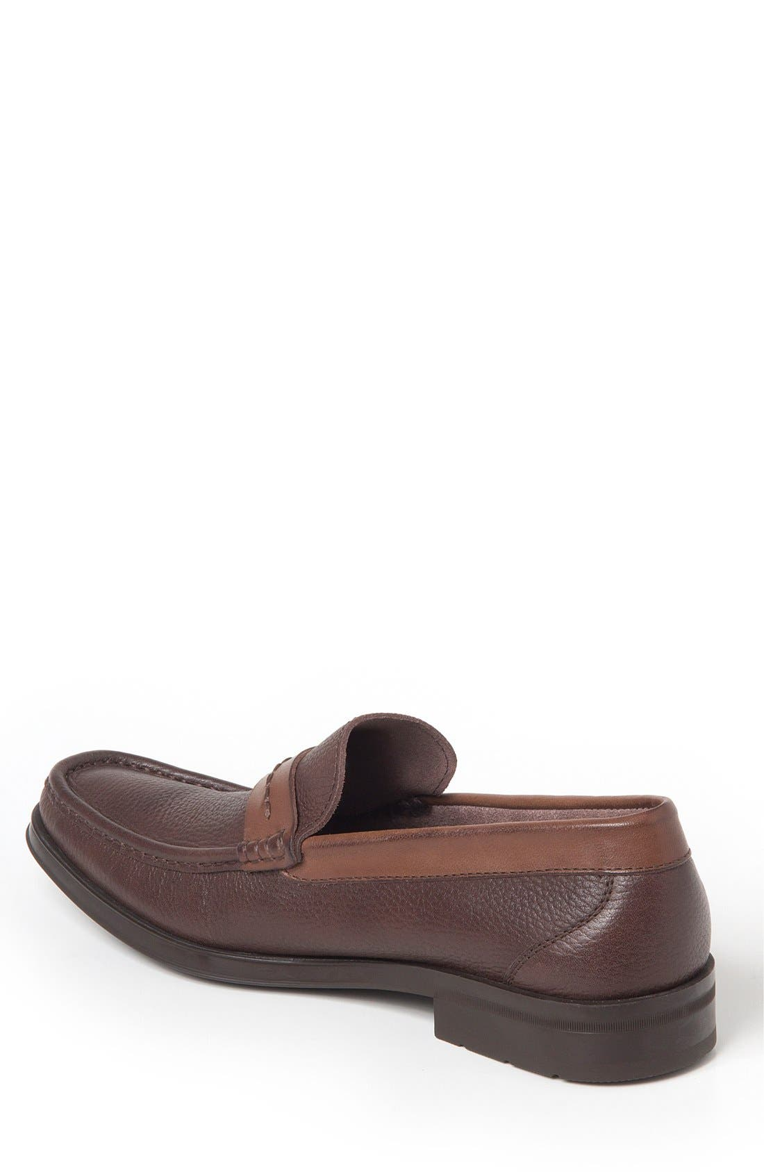 Duero Loafer,                             Alternate thumbnail 2, color,                             Brown Leather