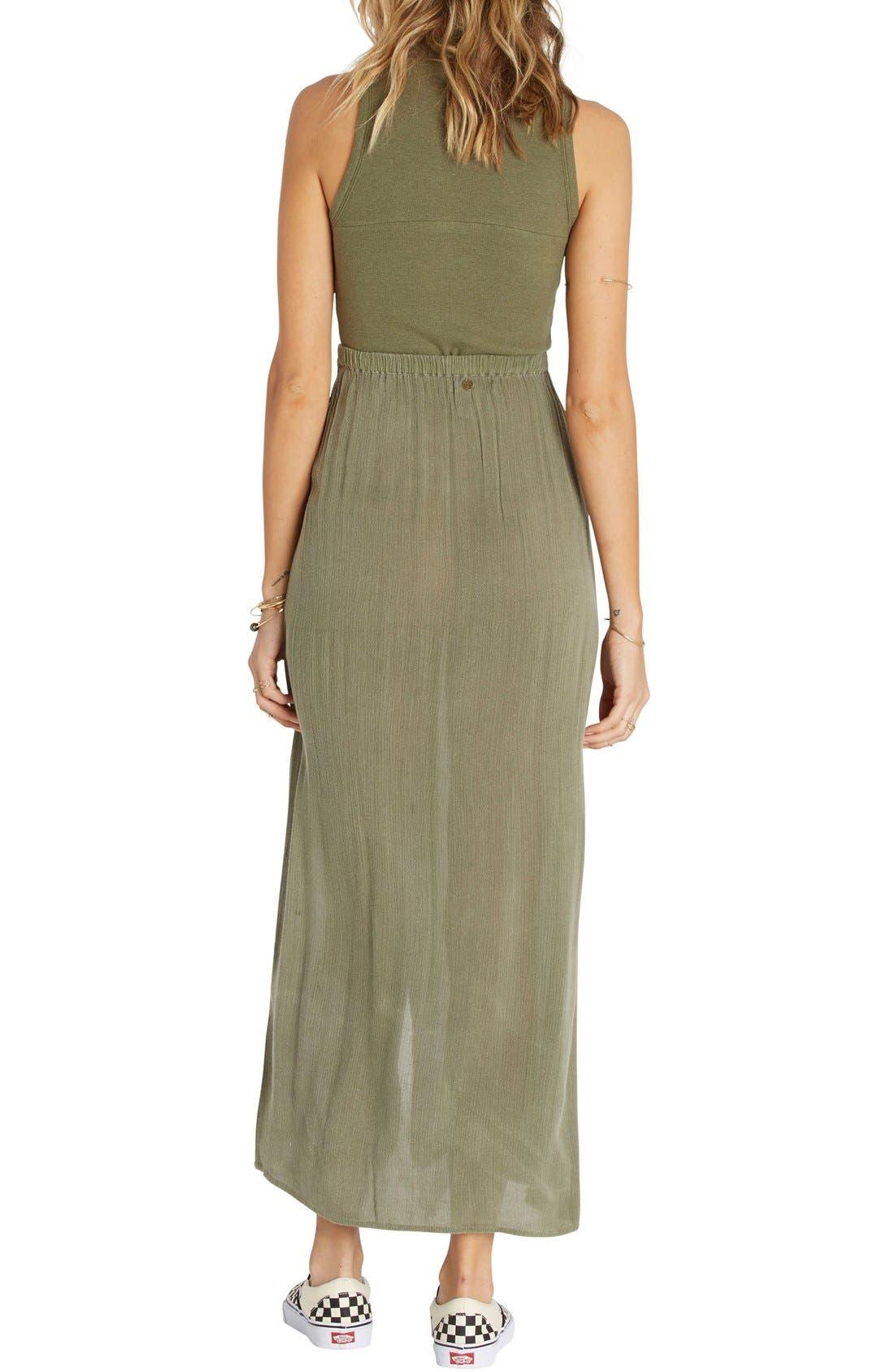 Alternate Image 2  - Billabong Honey High Waist Maxi Skirt