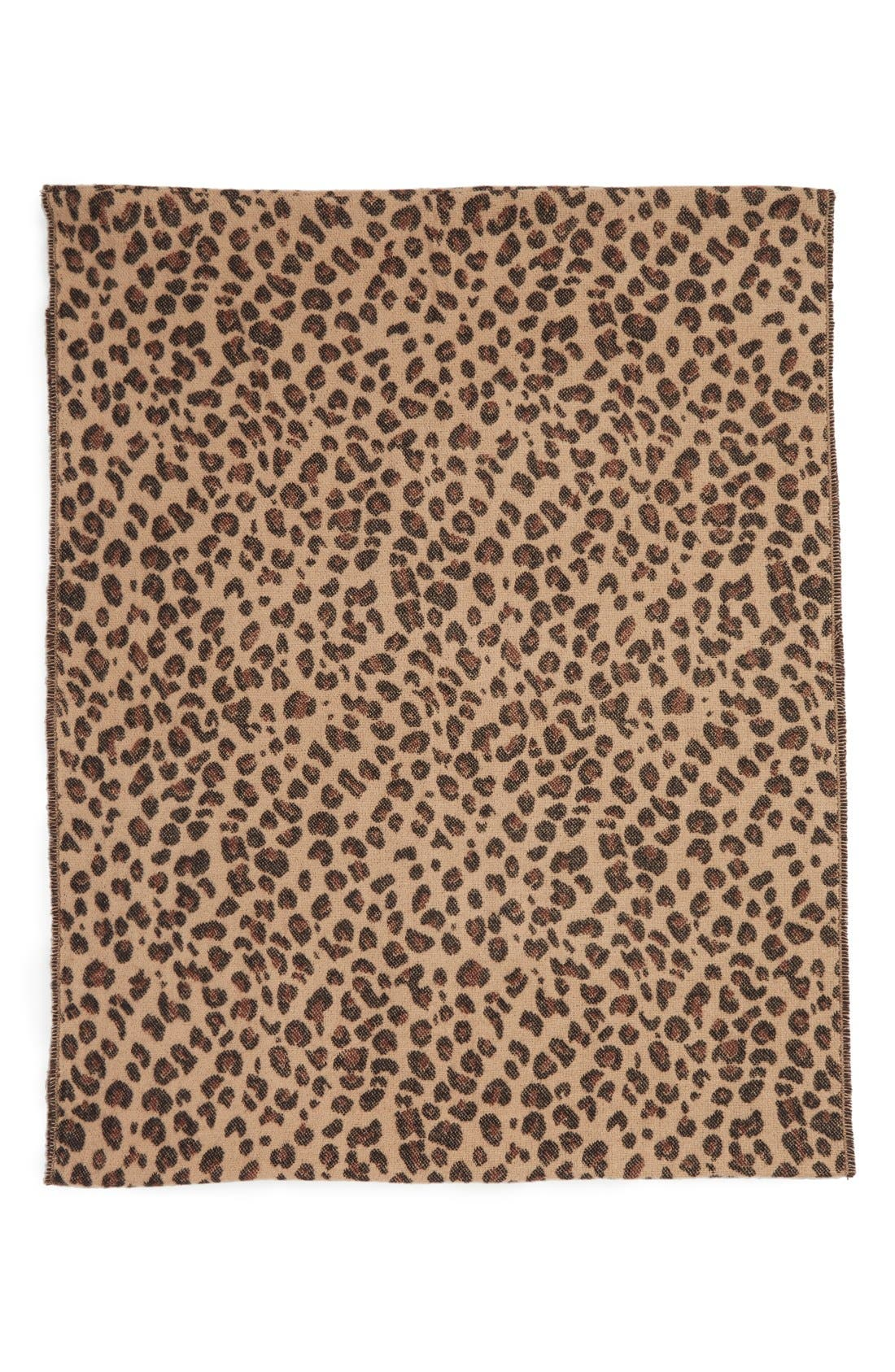 Alternate Image 3  - BP. Leopard Pattern Infinity Scarf