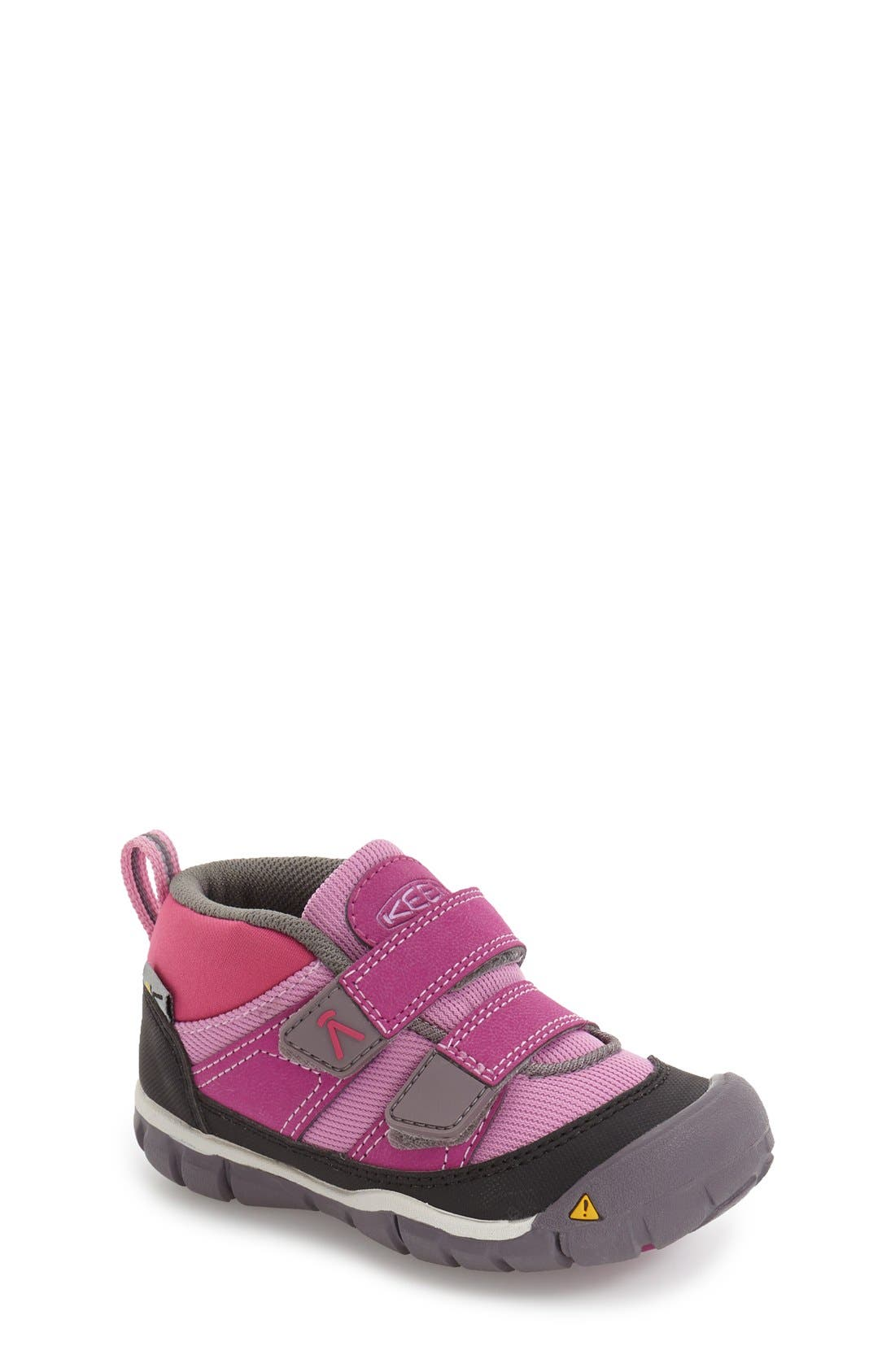 Peek-a-Shoe Sneaker,                             Main thumbnail 1, color,                             Purple Wine