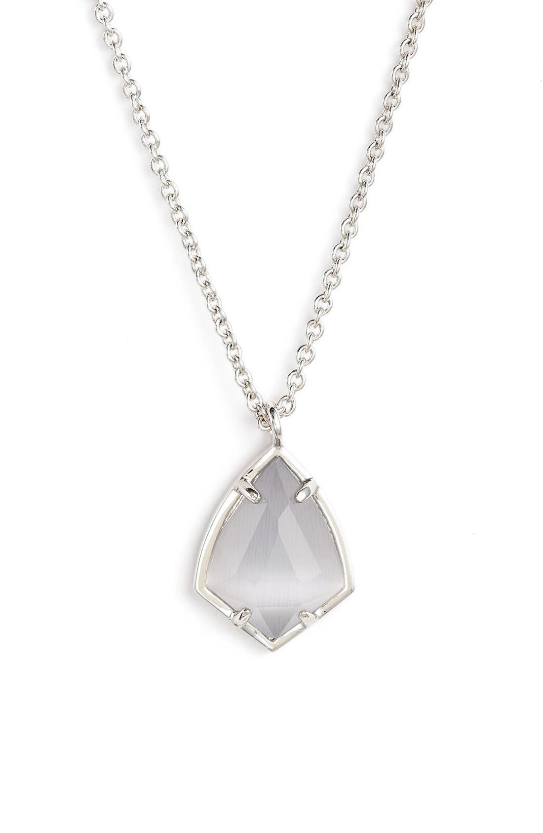 Alternate Image 1 Selected - Kendra Scott 'Cory' Semiprecious Stone Pendant Necklace