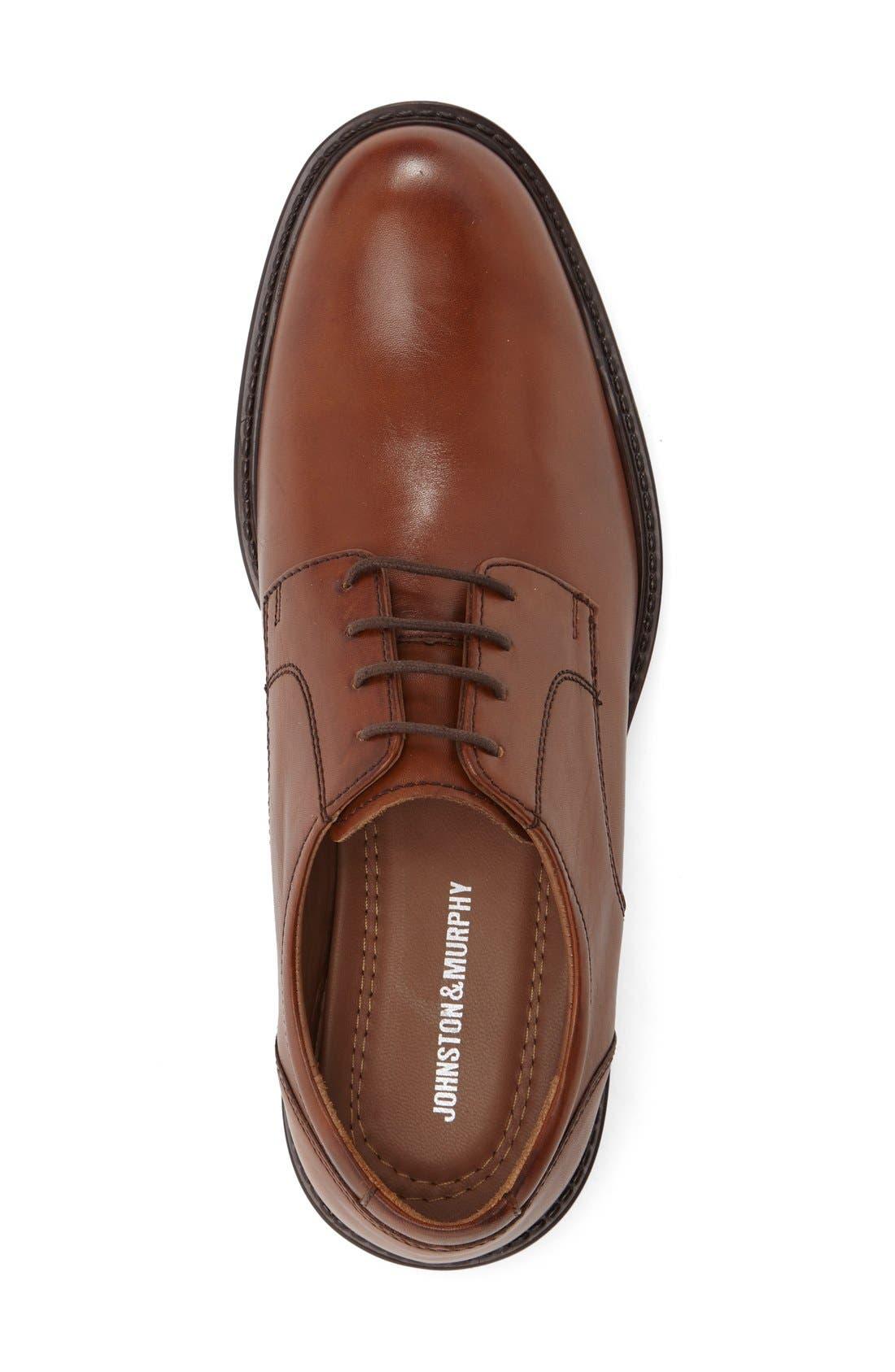 Alternate Image 3  - Johnston & Murphy Tabor Plain Toe Derby (Men)