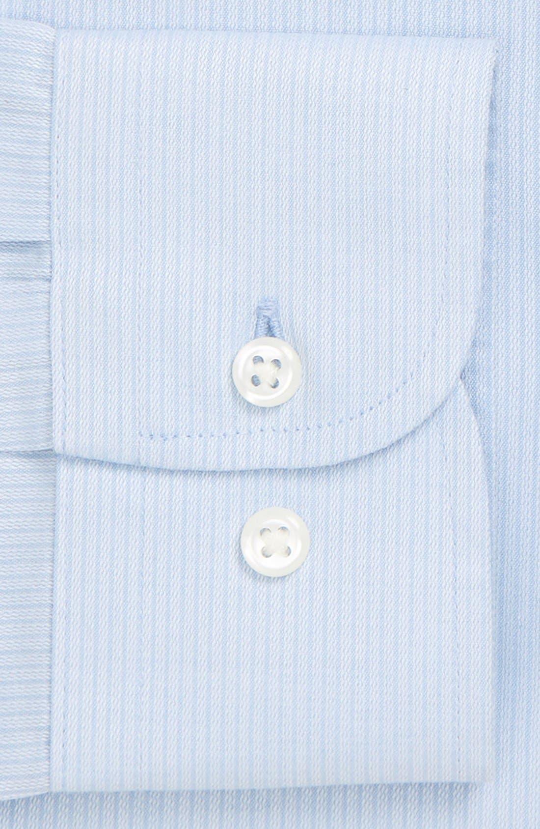 Alternate Image 4  - Nordstrom Men's Shop Smartcare™ Trim Fit Dress Shirt